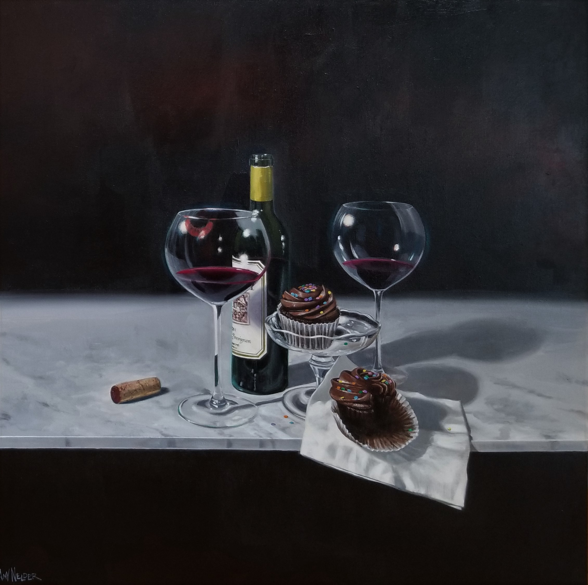 Cupcakes Interrupted by Amy Nelder
