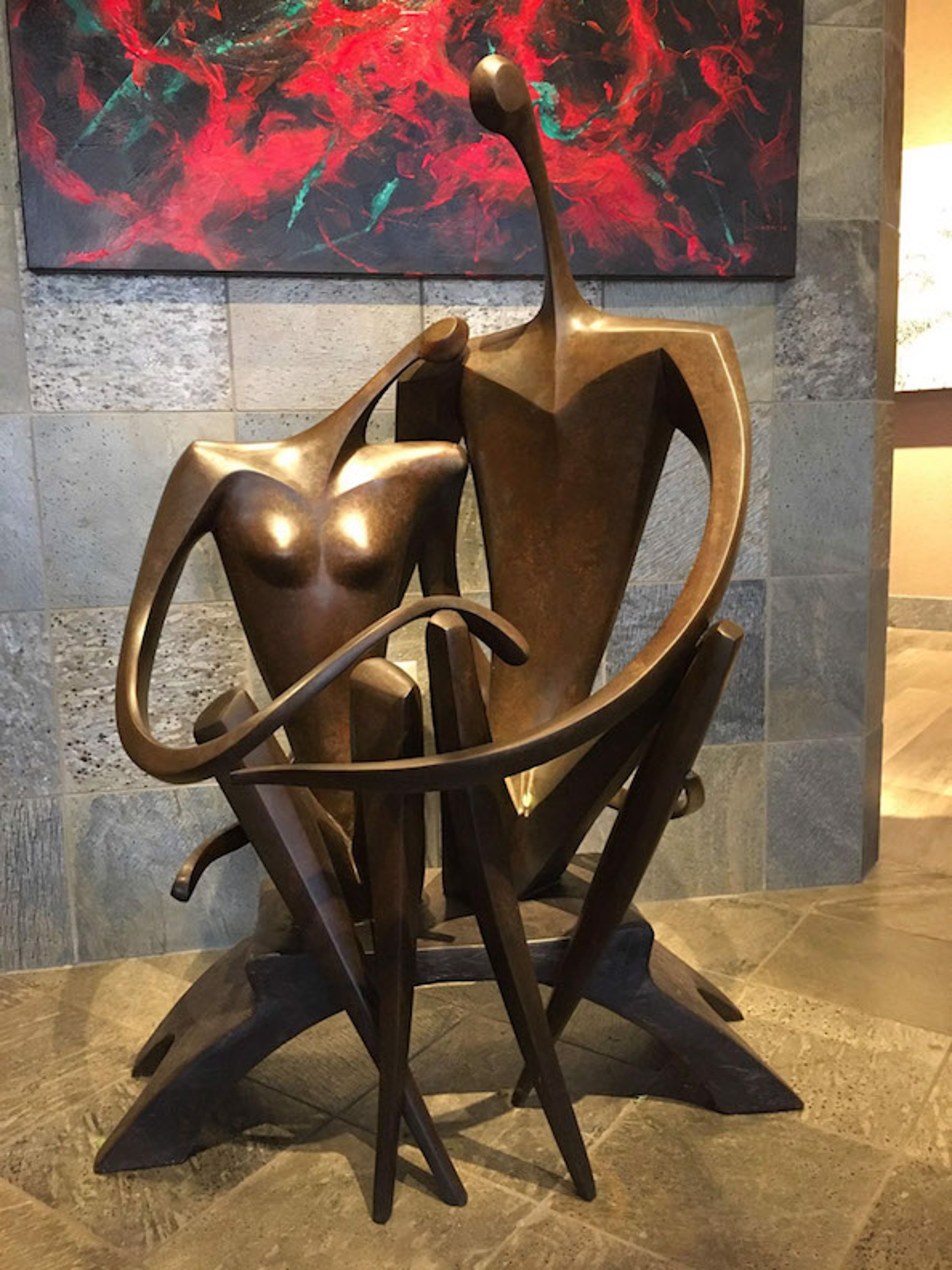 Lovers by Leon Bronstein