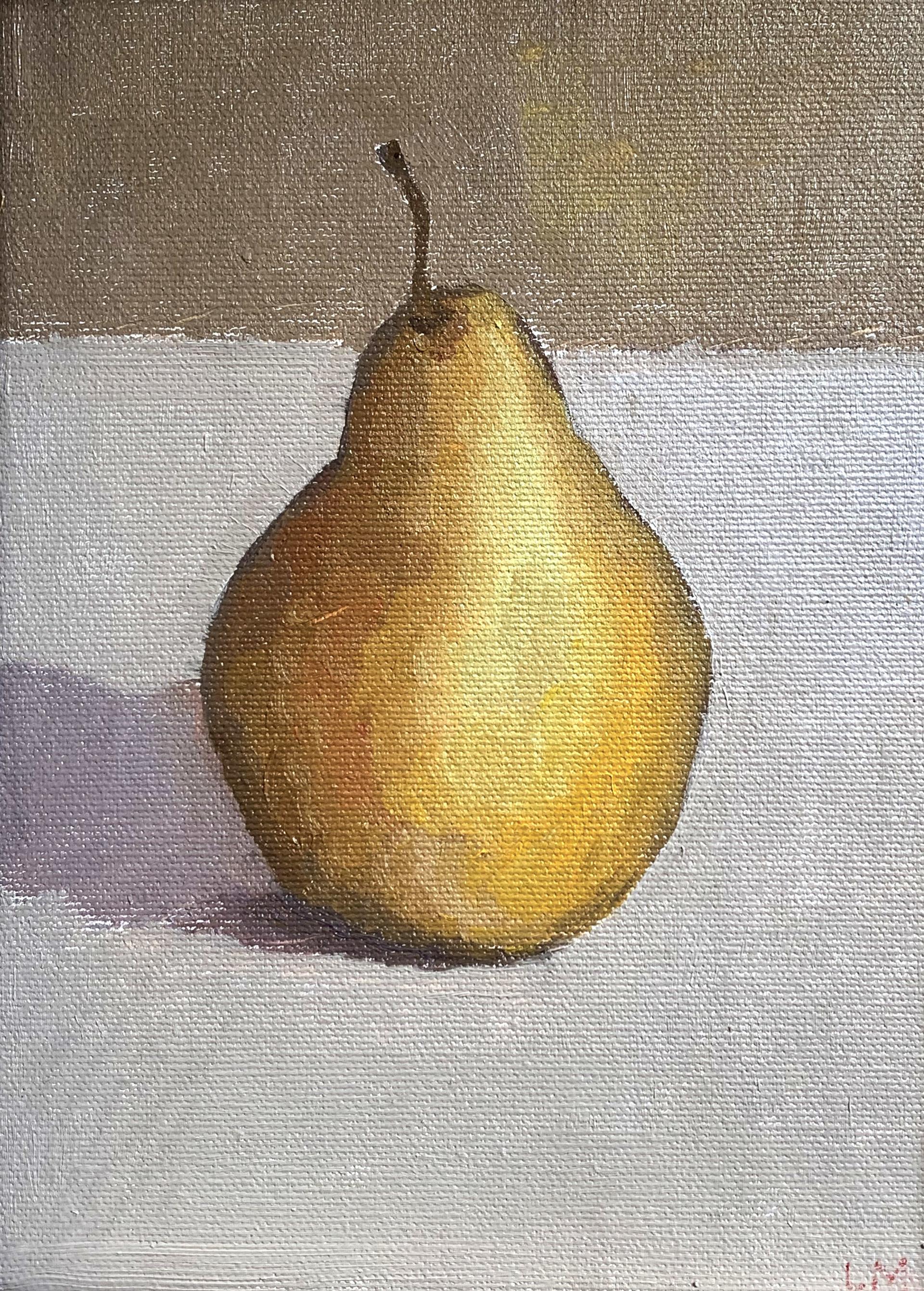 Bosc Pear by Laura Murphey