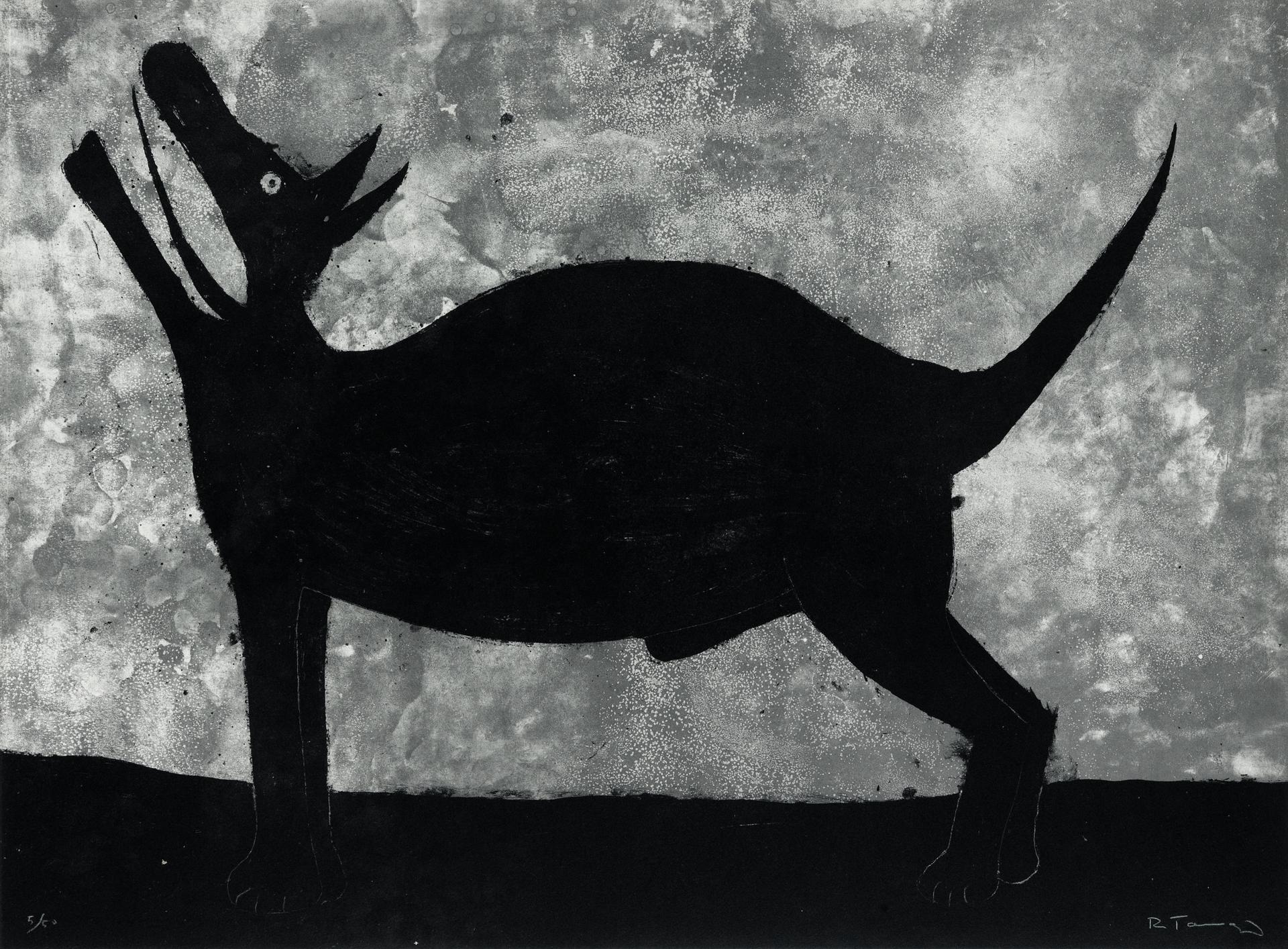 Perro by Rufino Tamayo (1899 - 1991)