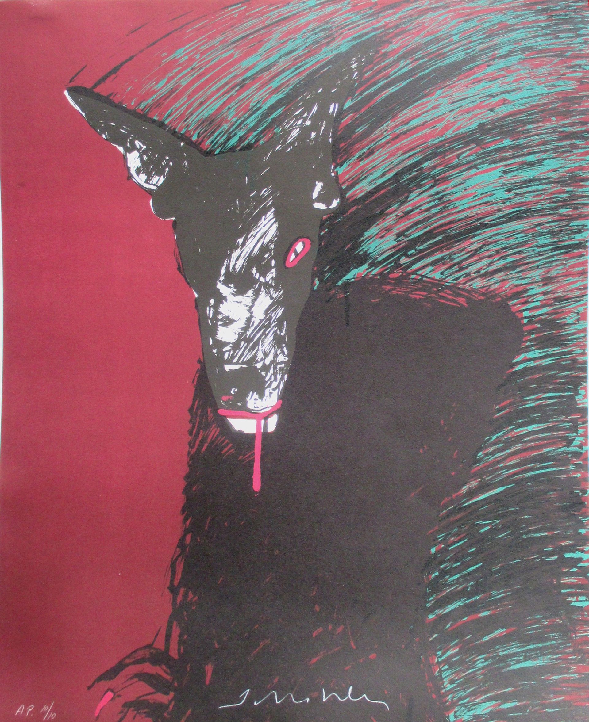 Wolf by Fritz Scholder