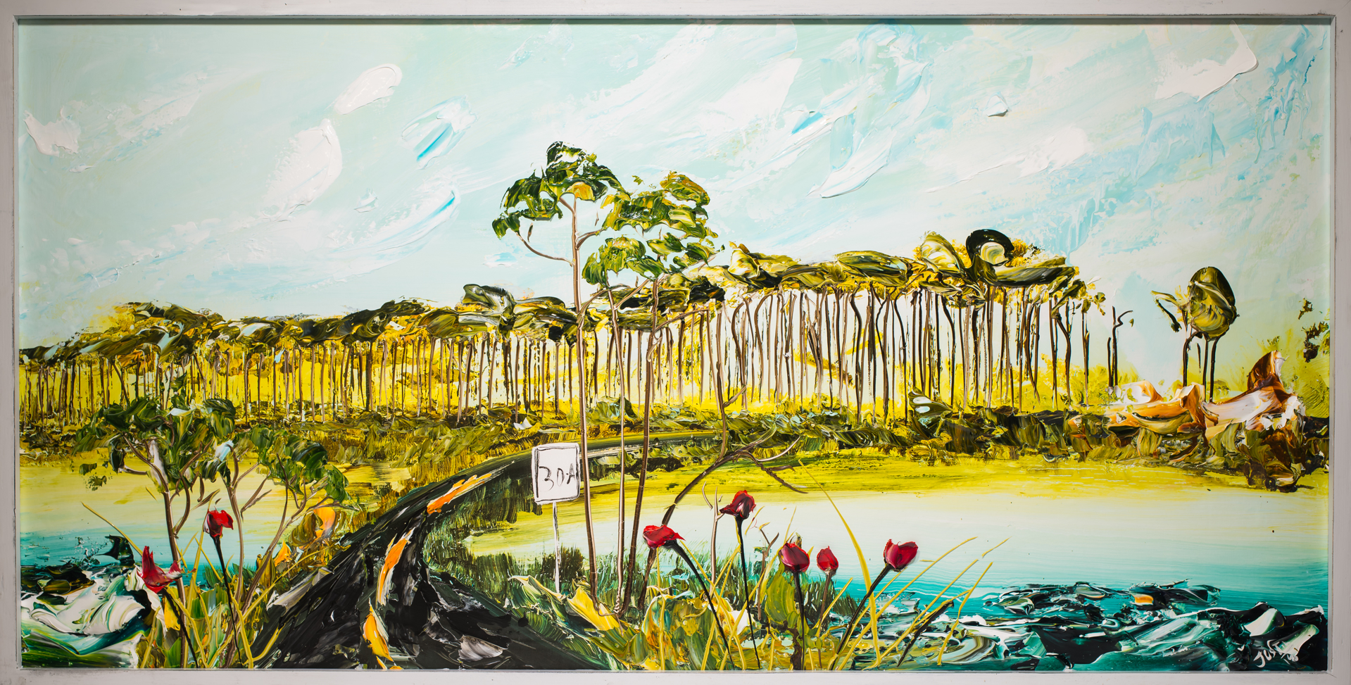 30A LAKESCAPE HPAE 2/50-72x36-2018-.25FR2 by Justin Gaffrey