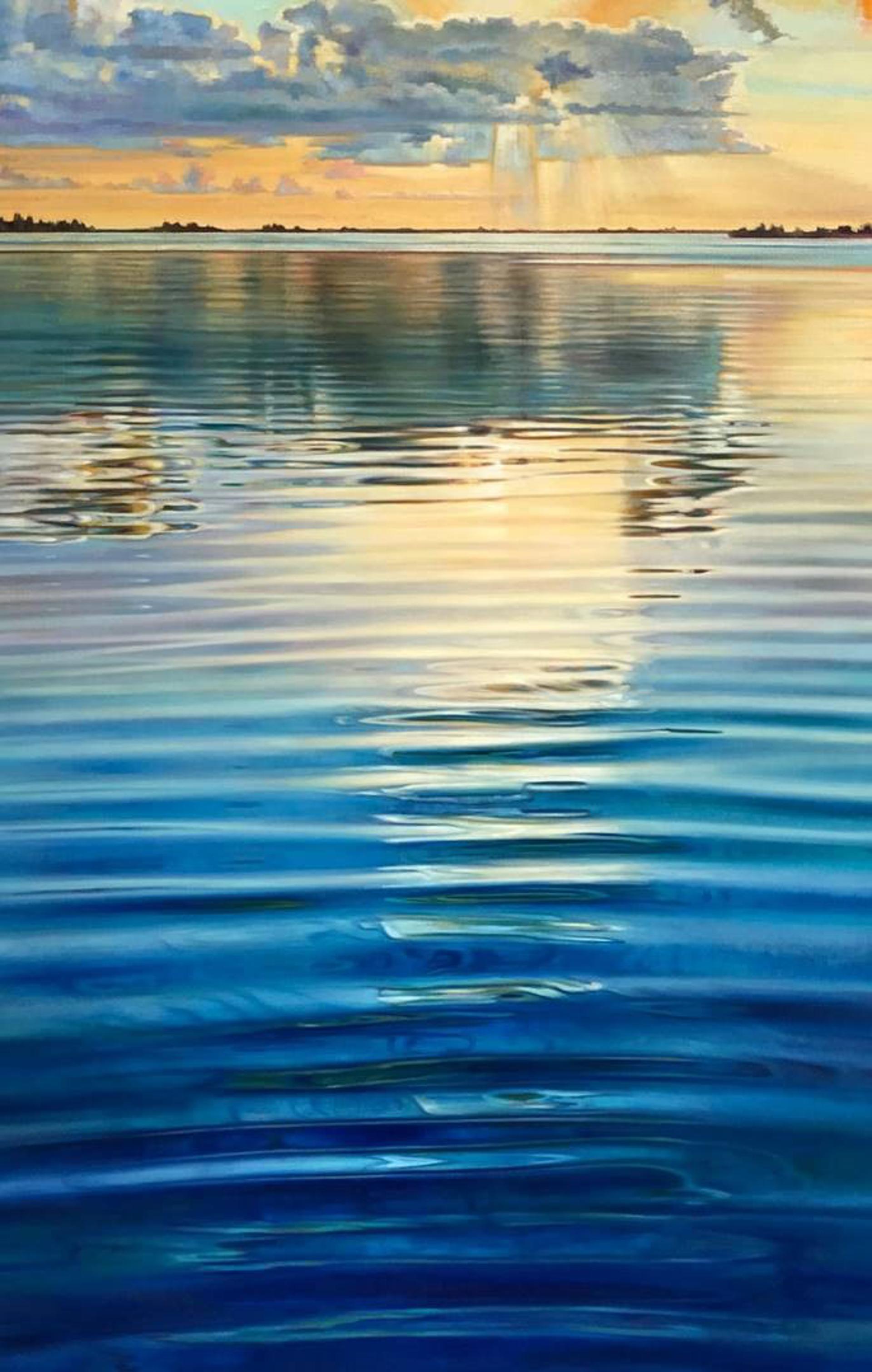 Island Reflections by Caroline Zimmermann
