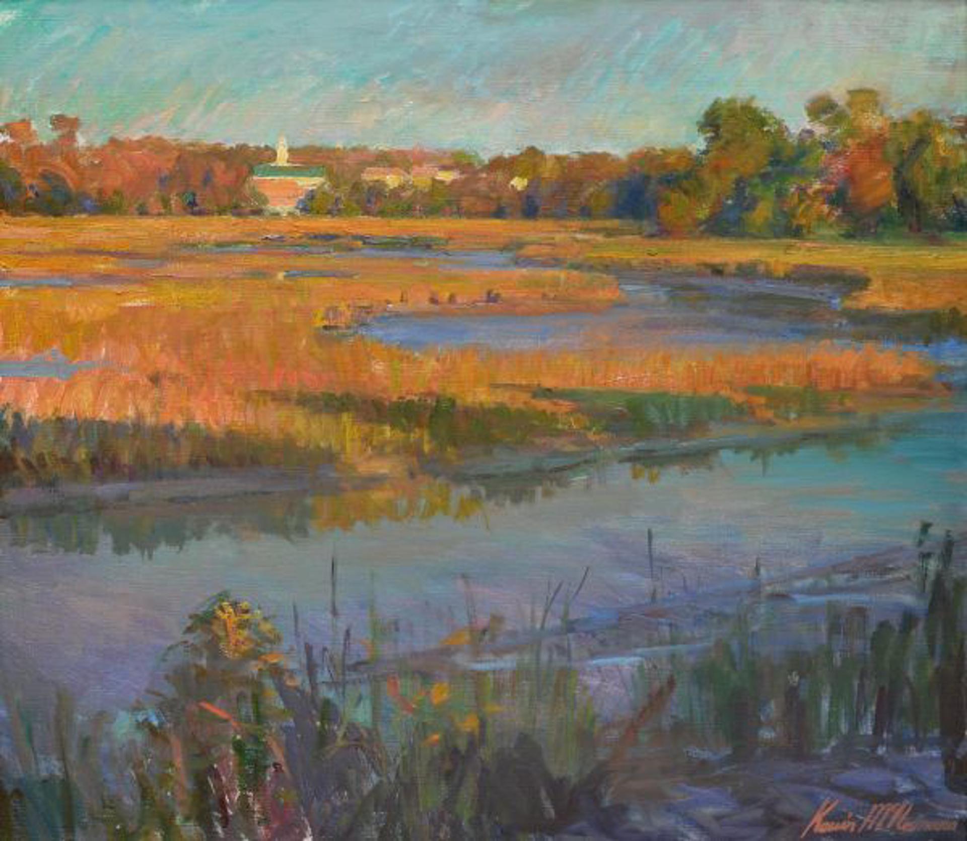 Evening Marsh by Kevin McNamara