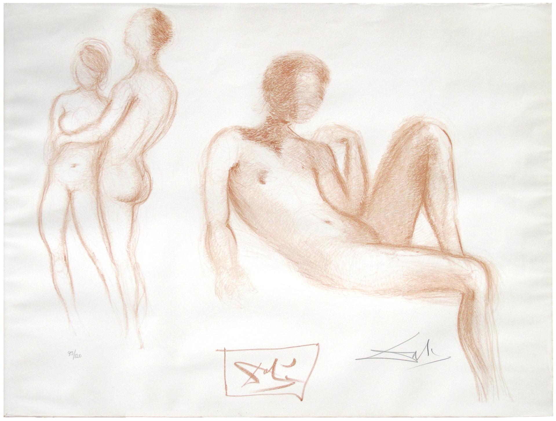 Nudes by Salvador Dali