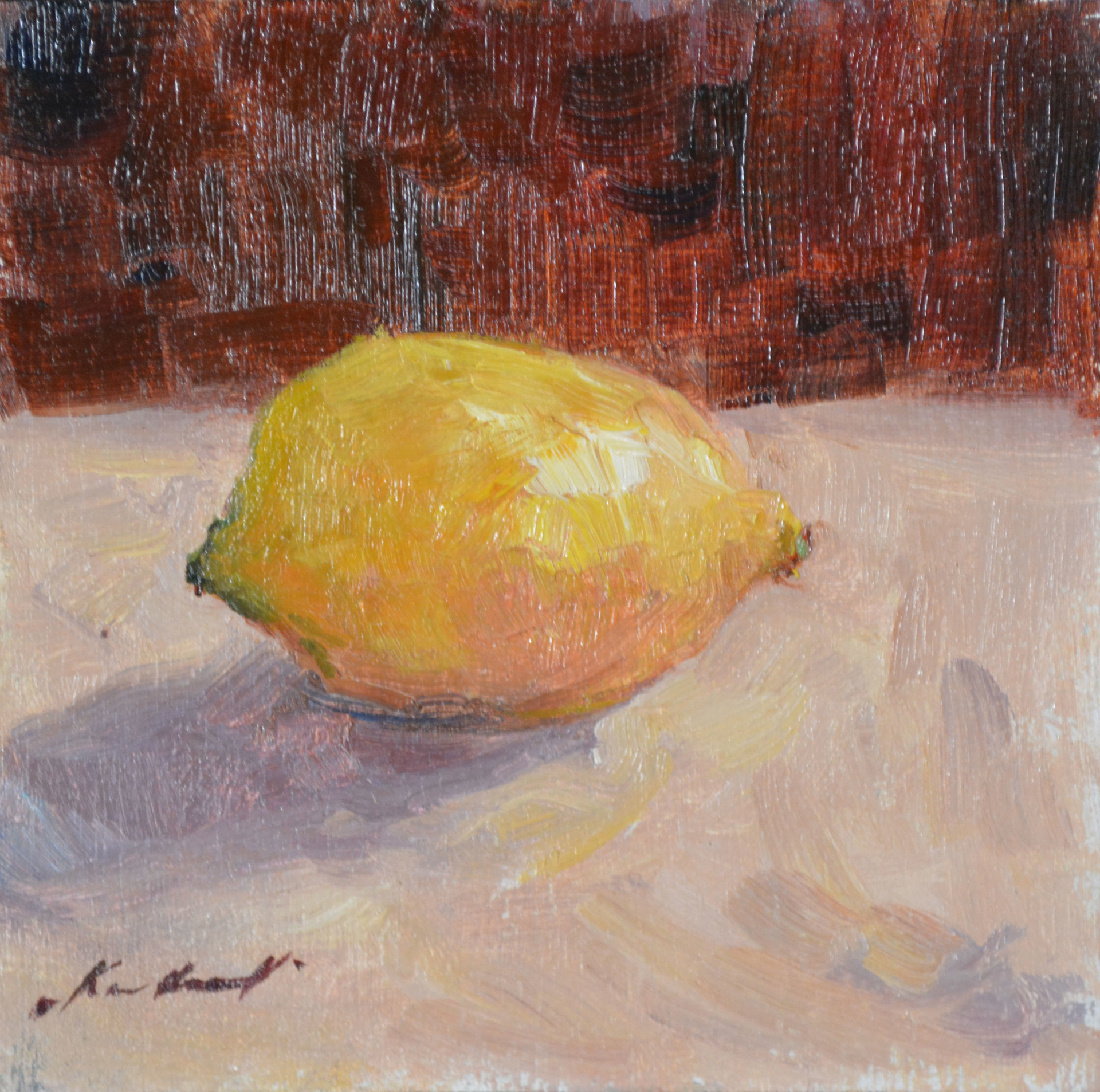 Lone Lemon by Karen Hewitt Hagan