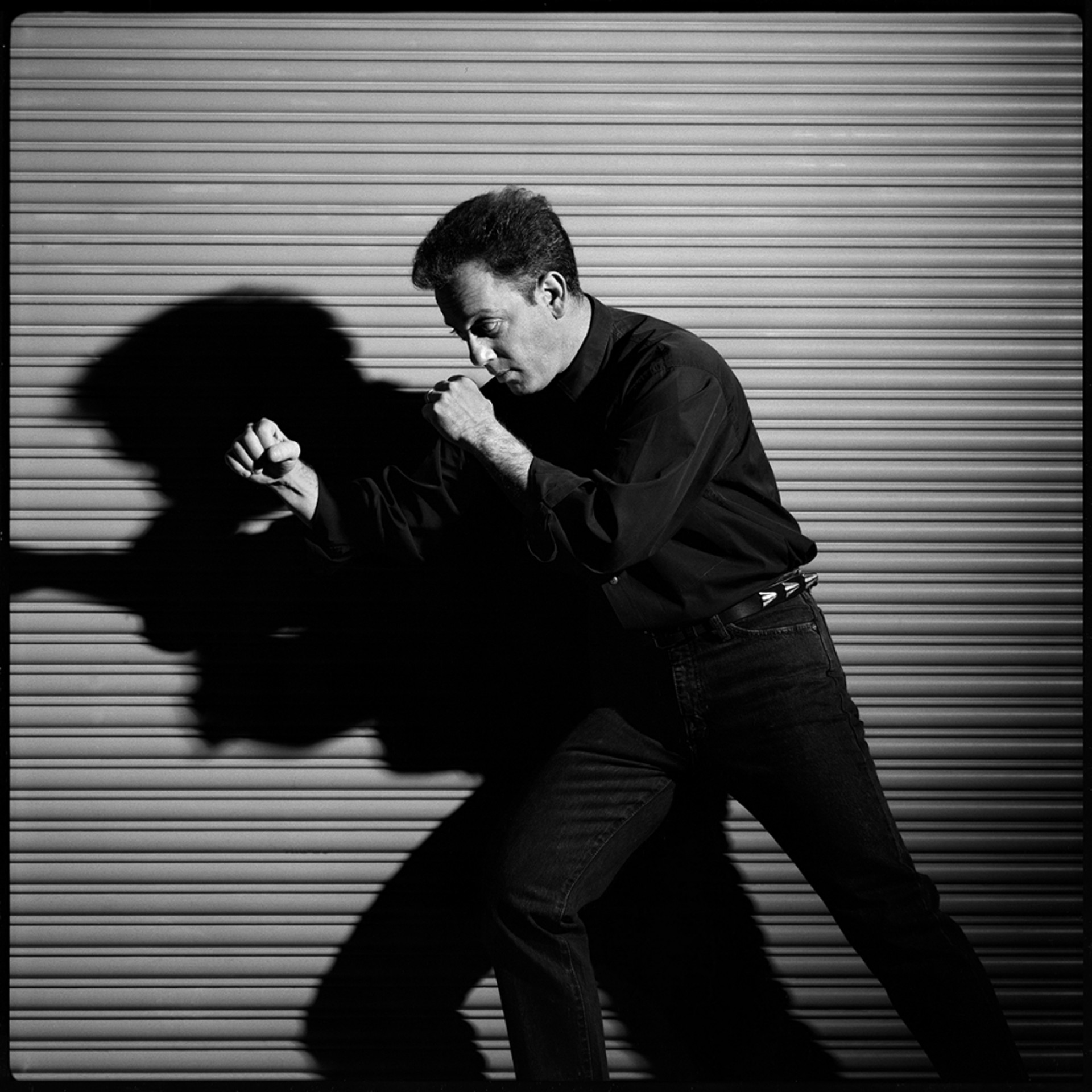 89196 Billy Joel Boxing BW by Timothy White