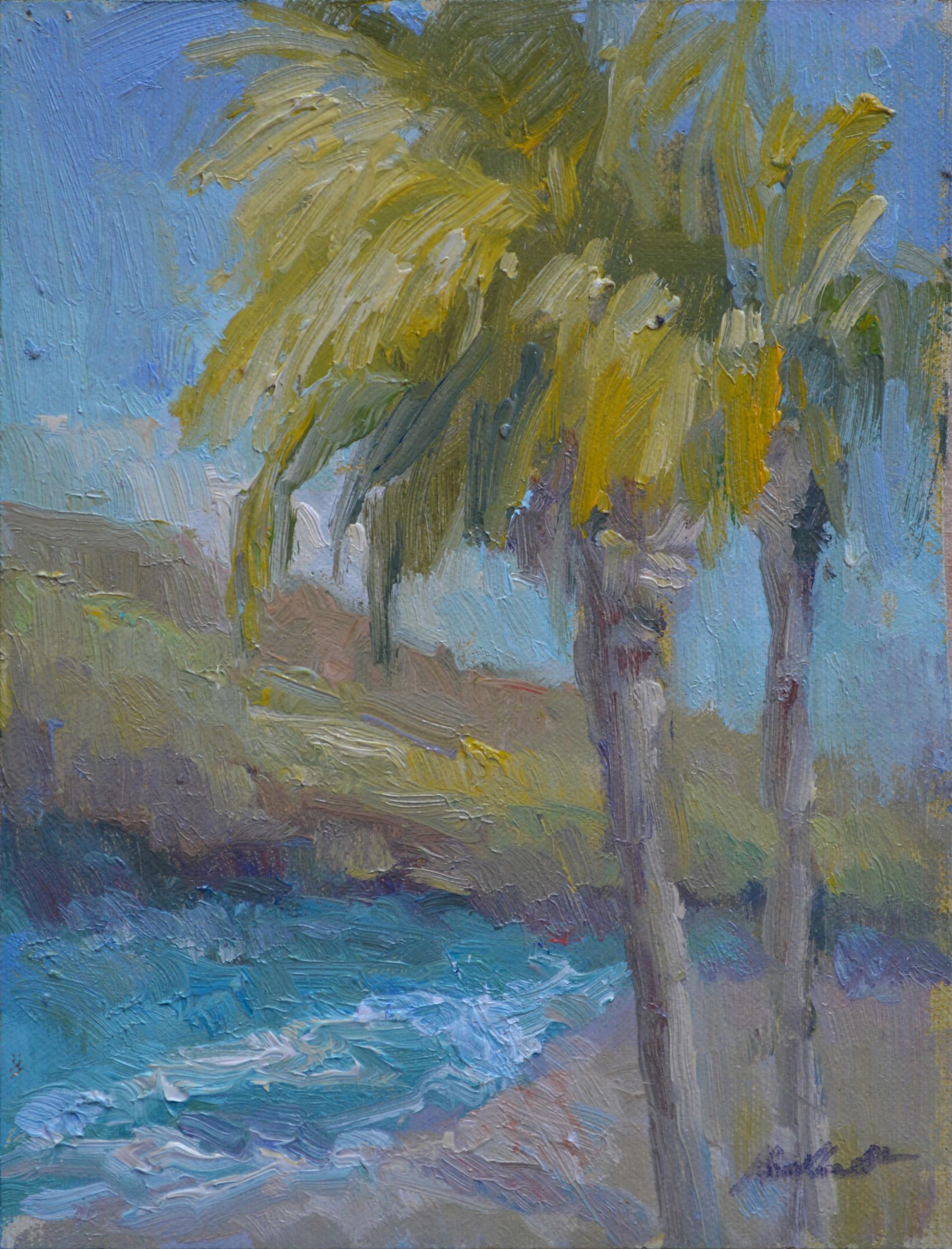 St. Croix Morning by Karen Hewitt Hagan