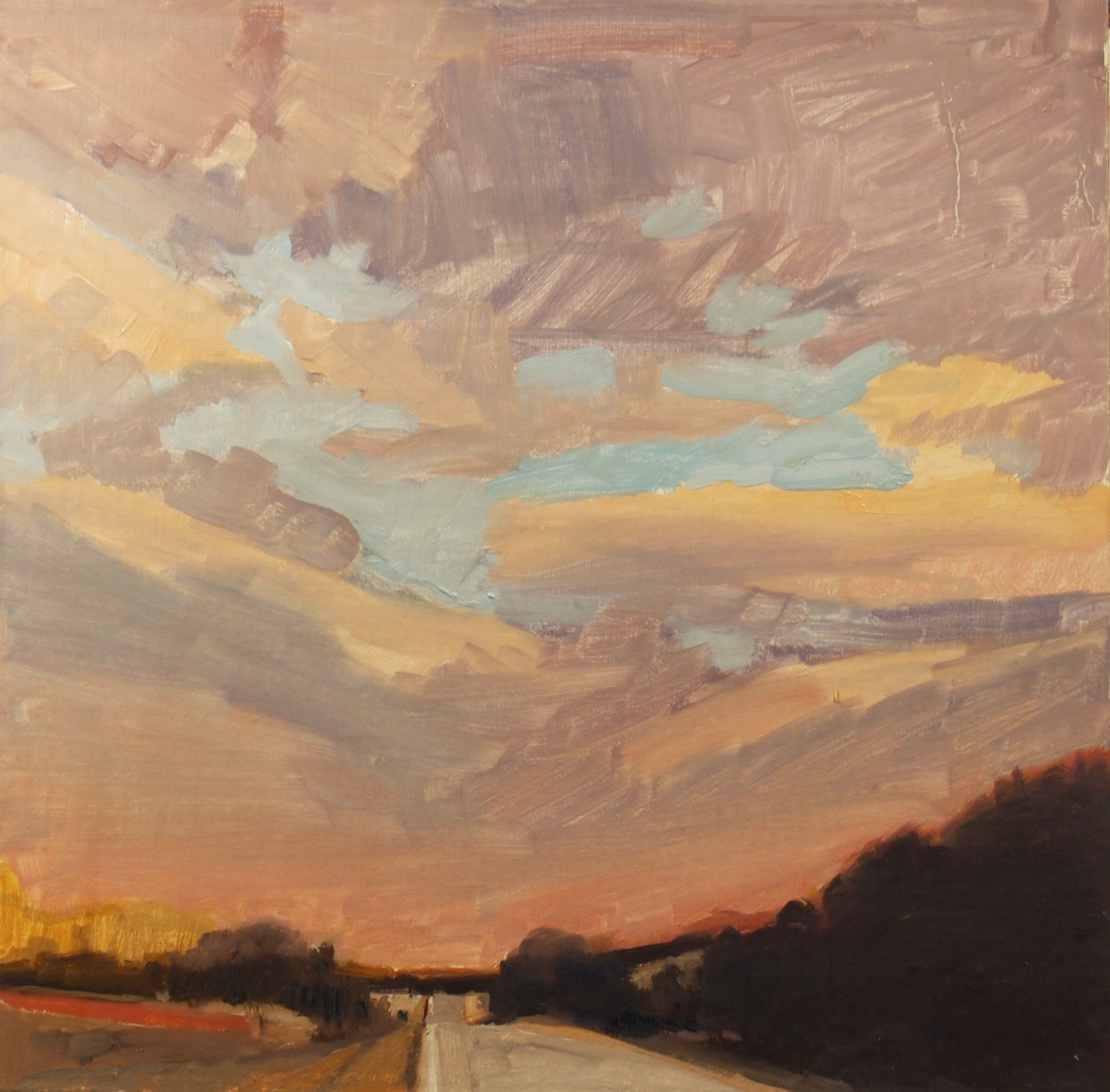 Valley Grove Road by Tom Maakestad