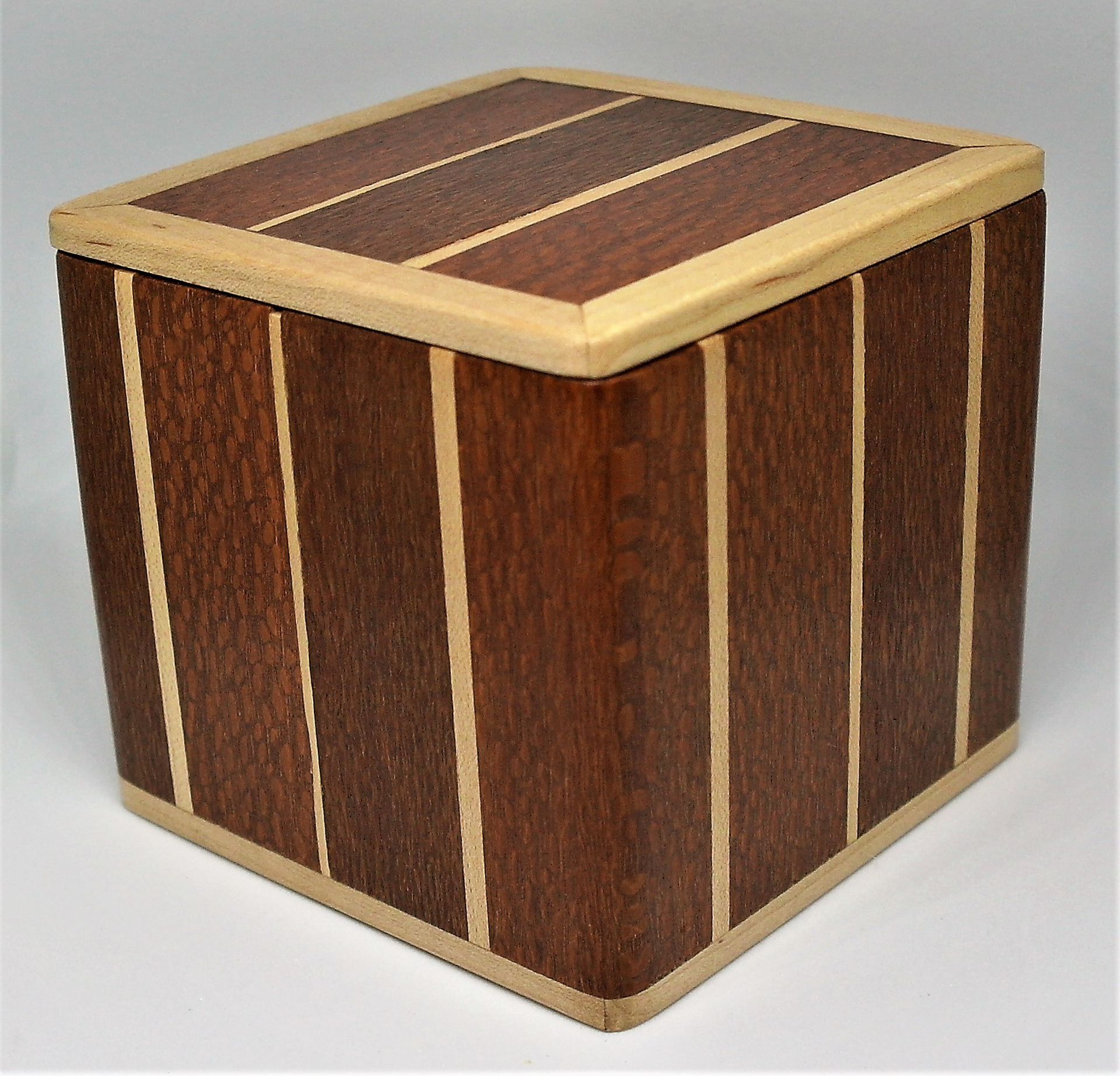 Box #26 Maple & Lacewood by Pete Rock