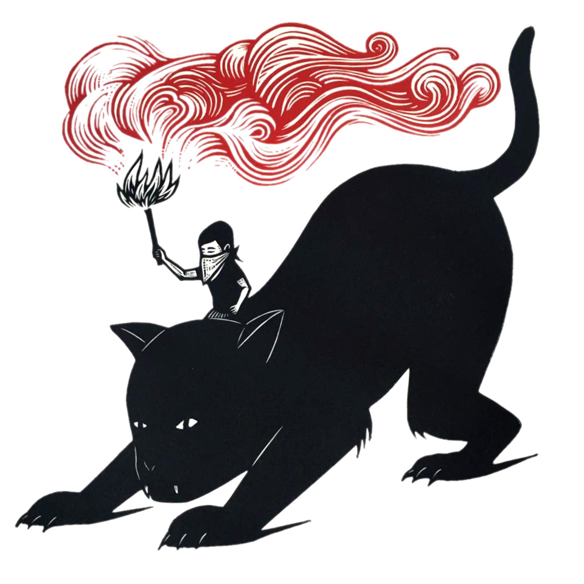 Untitled (Gato) by Alberto Cruz