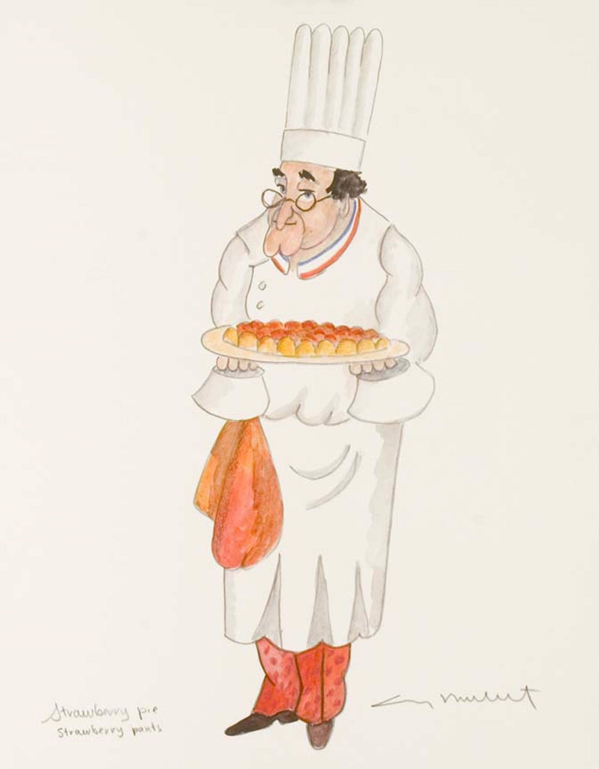 Strawberry Pie Strawberry Pants by Guy Buffet