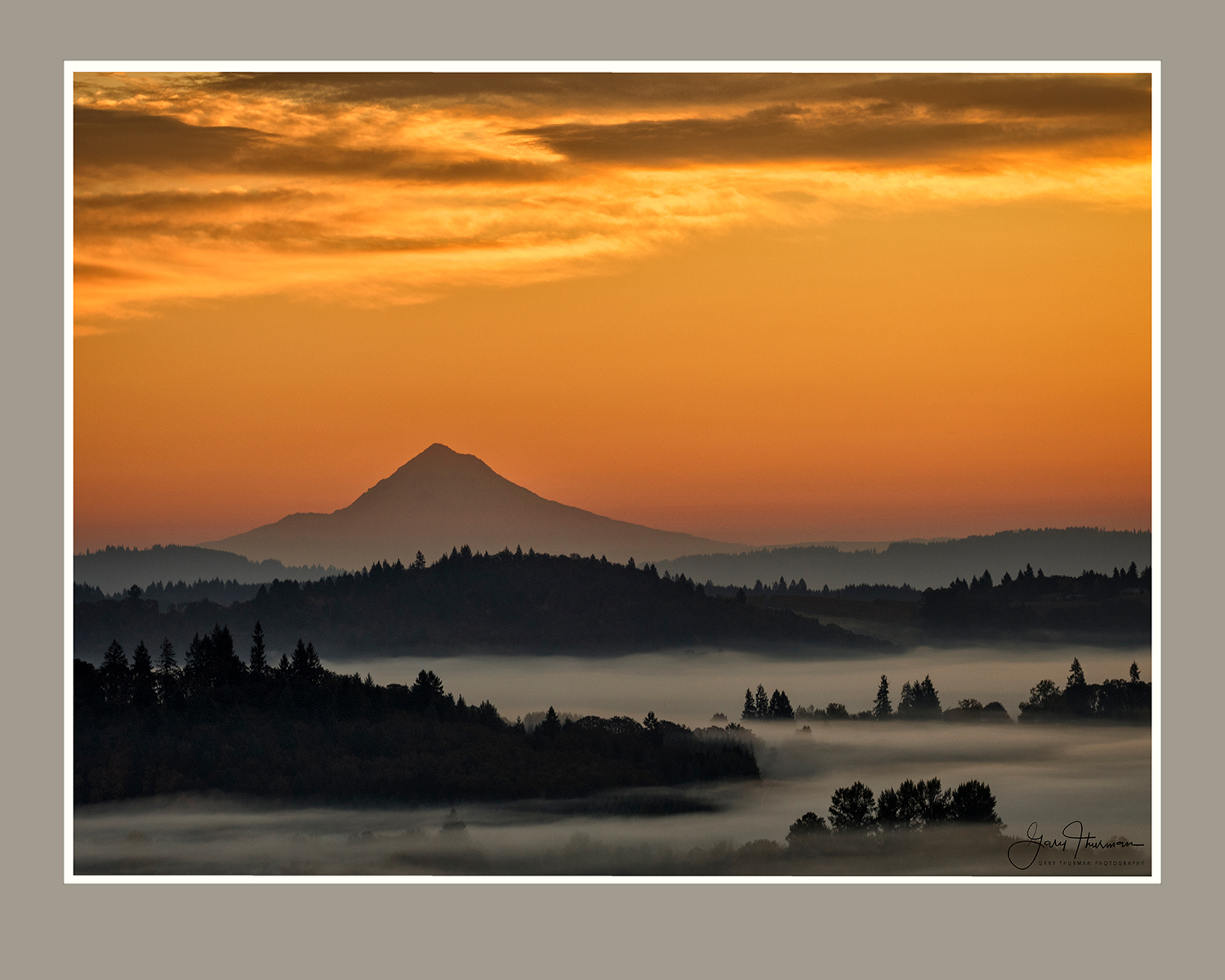 Mt. Hood Sunrise by Gary Thurman (McMinnville, OR)