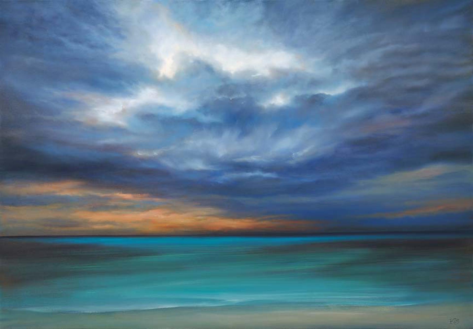 Blue Horizon by Cheryl Kline