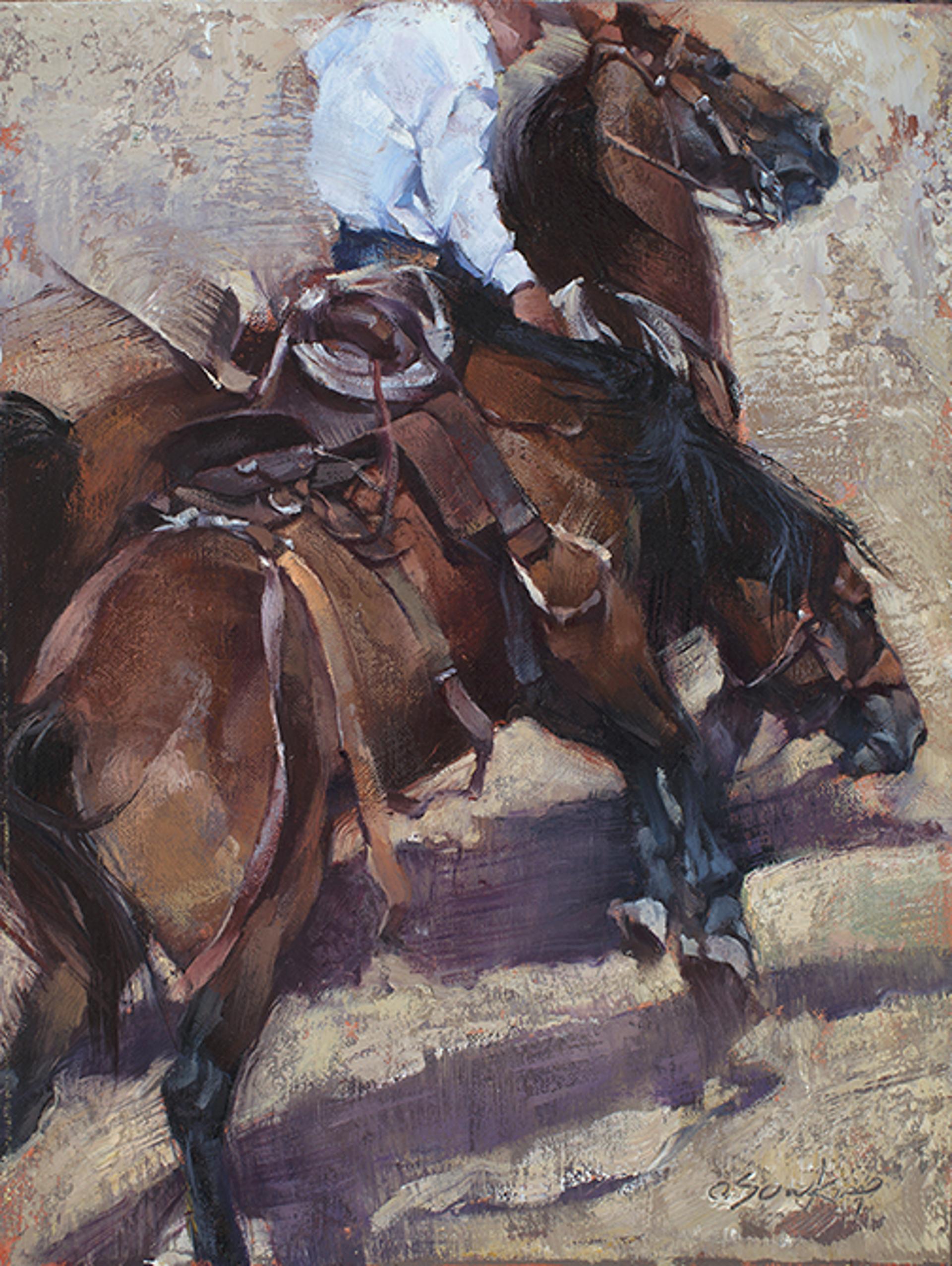 Bucking Bay (Fairgrounds Bronco 1) by Jill Soukup