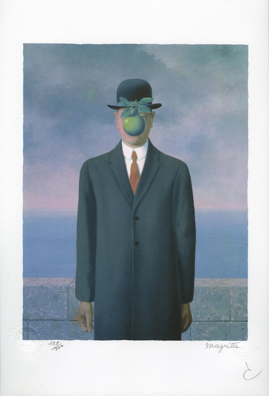 Le Fils de l'Homme (The Son of Man) by Rene Magritte