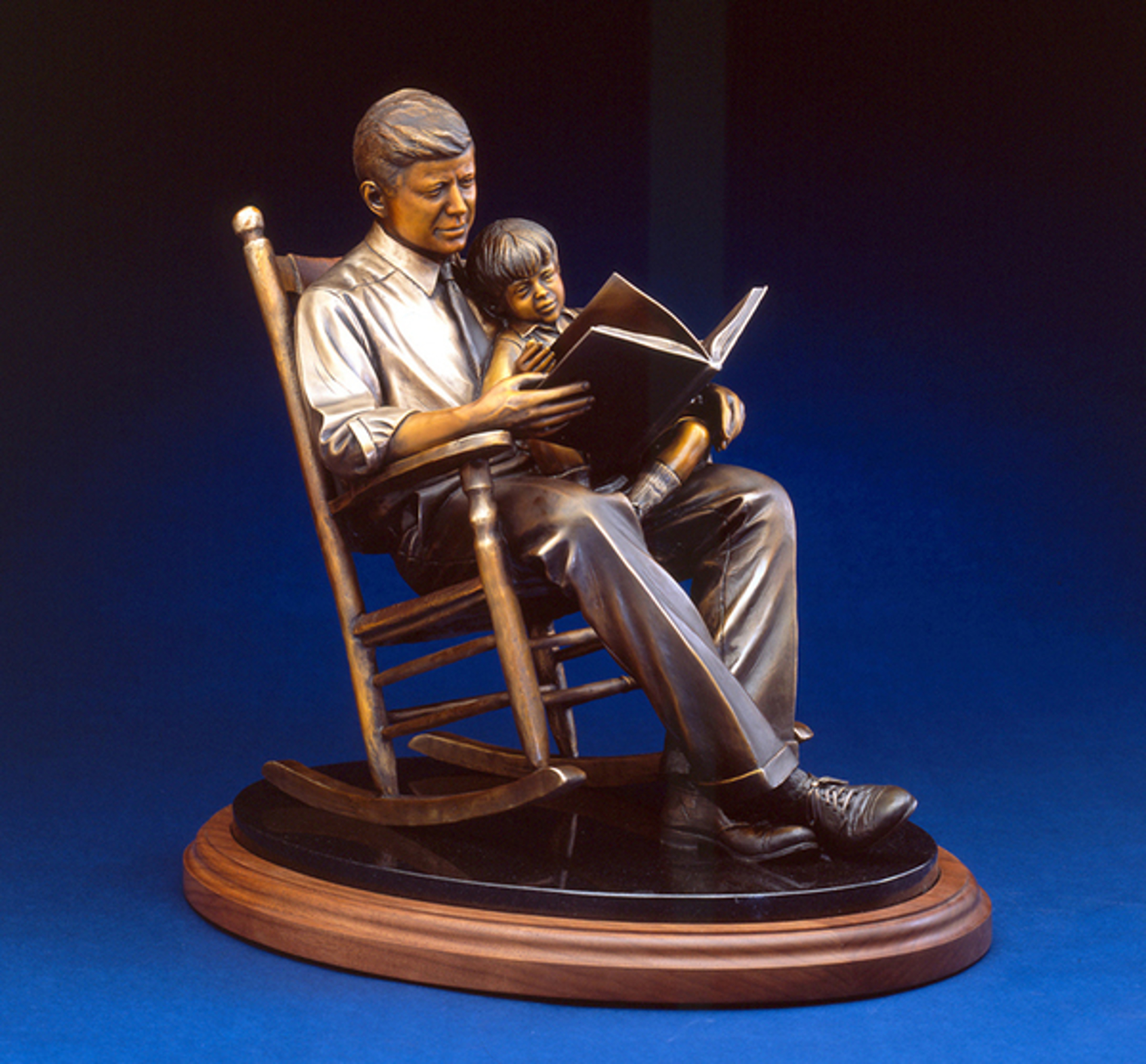 Turning The Pages by George Lundeen