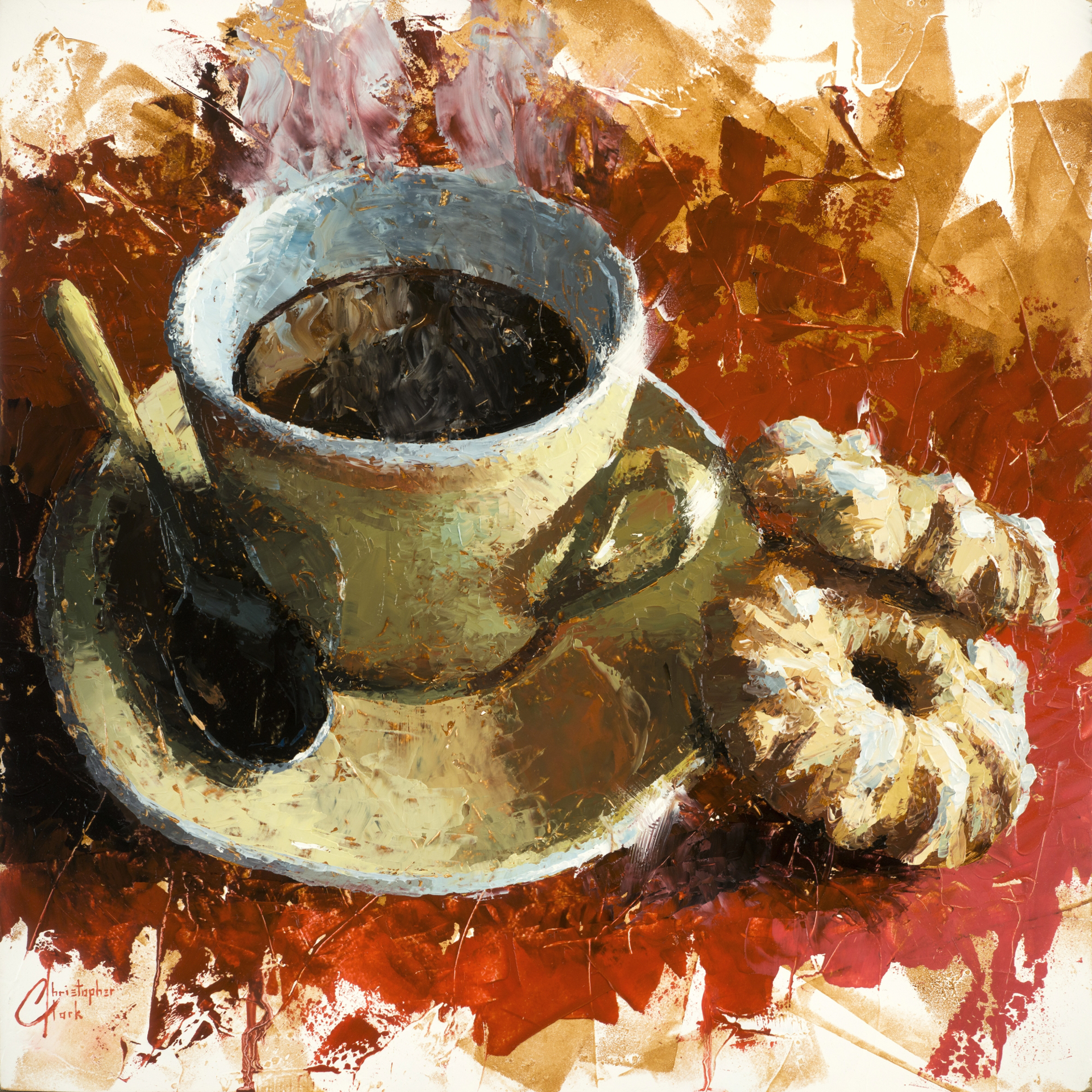 Cafe Italiano and Cookies by Christopher Clark
