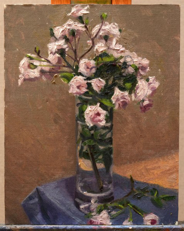 Spring Roses by Ocean Quigley