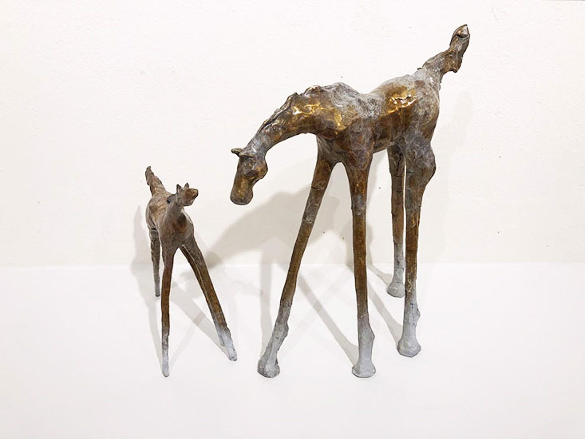 Mare & Foal (2-Piece) by Lorri Acott