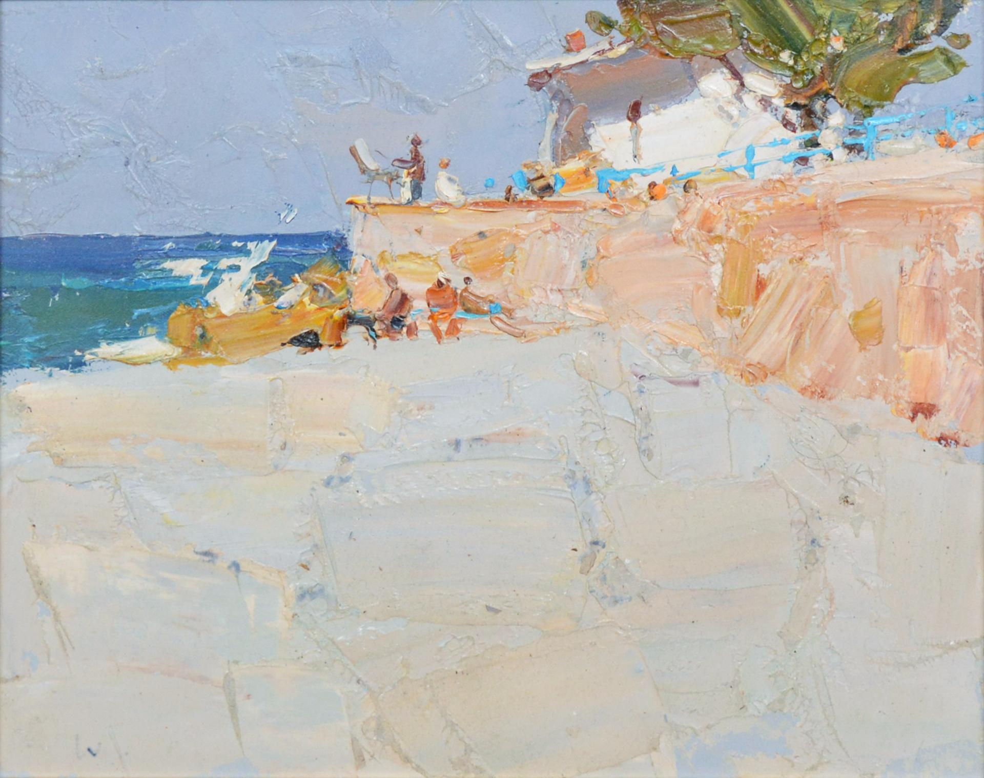The Beach by Daniil Volkov
