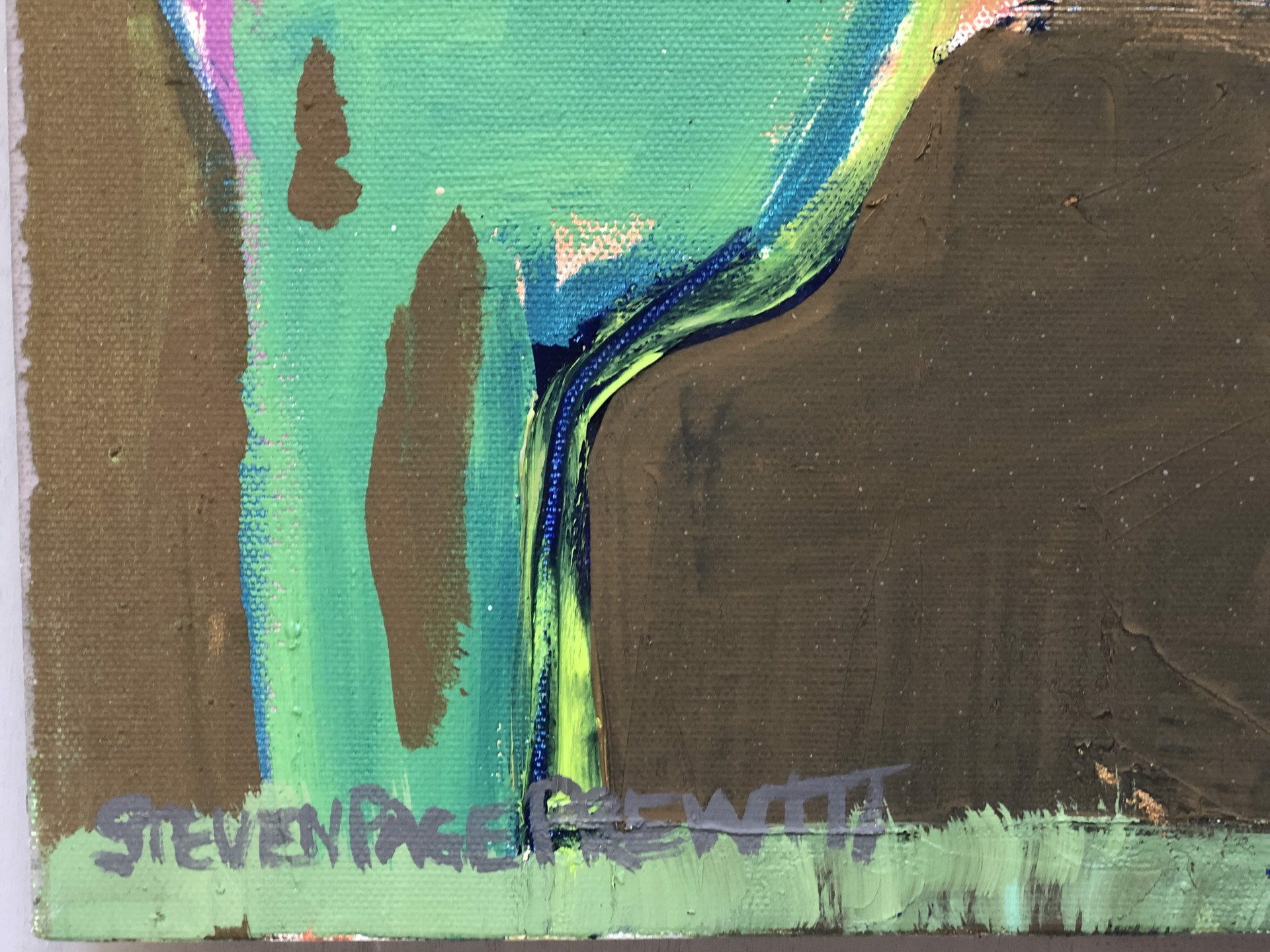 Abstract Landscape 22 - When Watauga Lake Needs More Rain by stevenpage prewitt