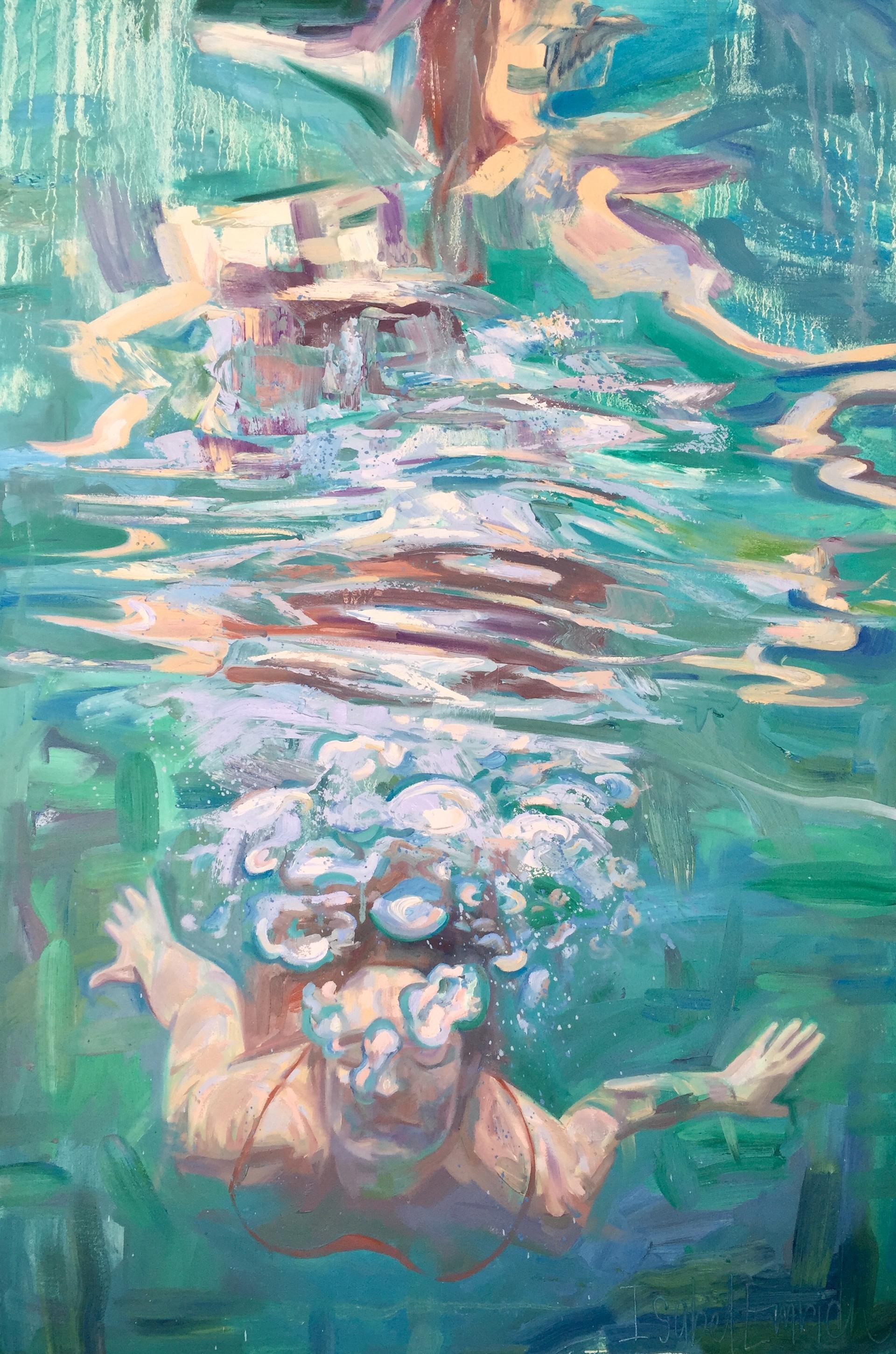 Gliding Below by Isabel Emrich