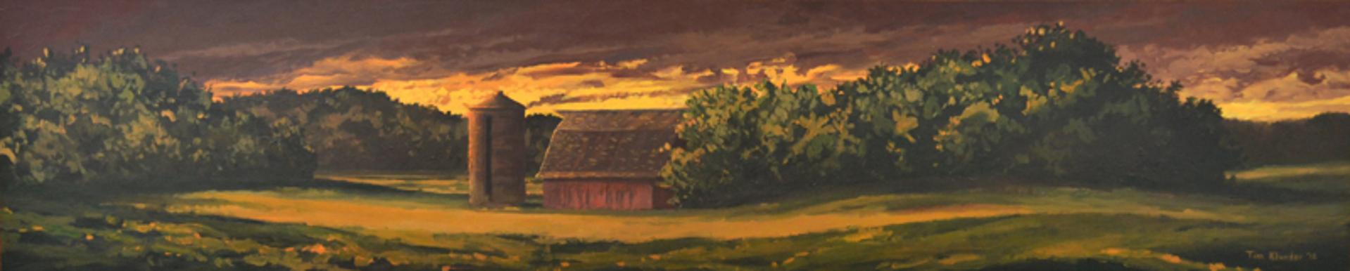 Golden Sunset by Tim Klunder