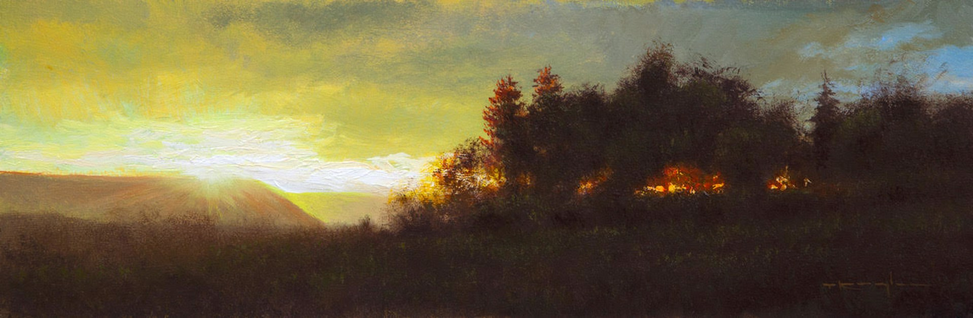 New Dawn, Psalm 63:5-6 by Thomas Kegler