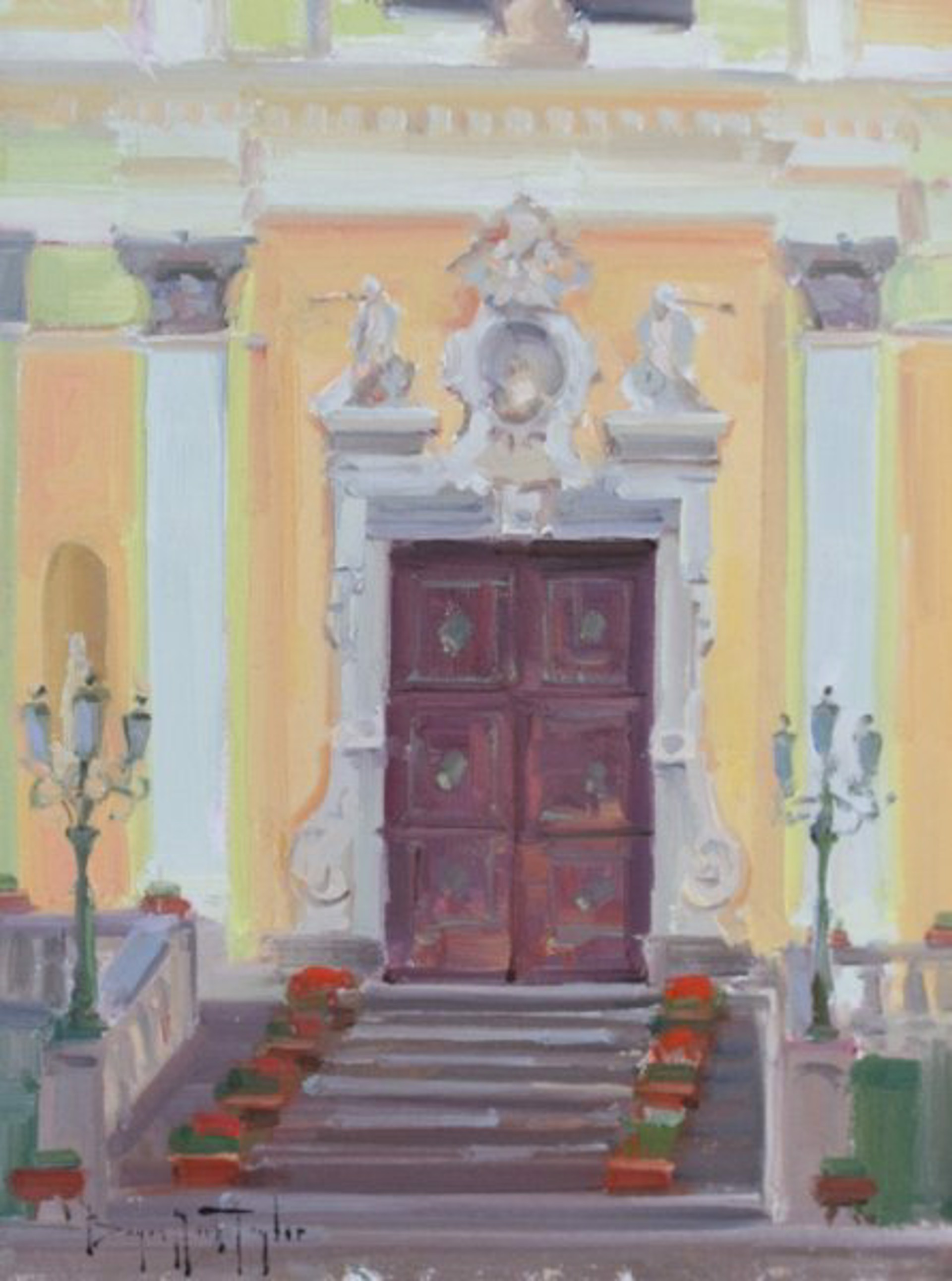 Minori Church Doors by Bryan Mark Taylor