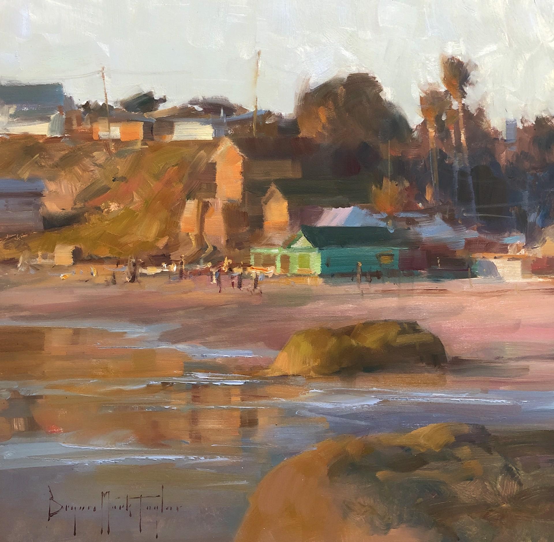 Sunset Walk by Bryan Mark Taylor