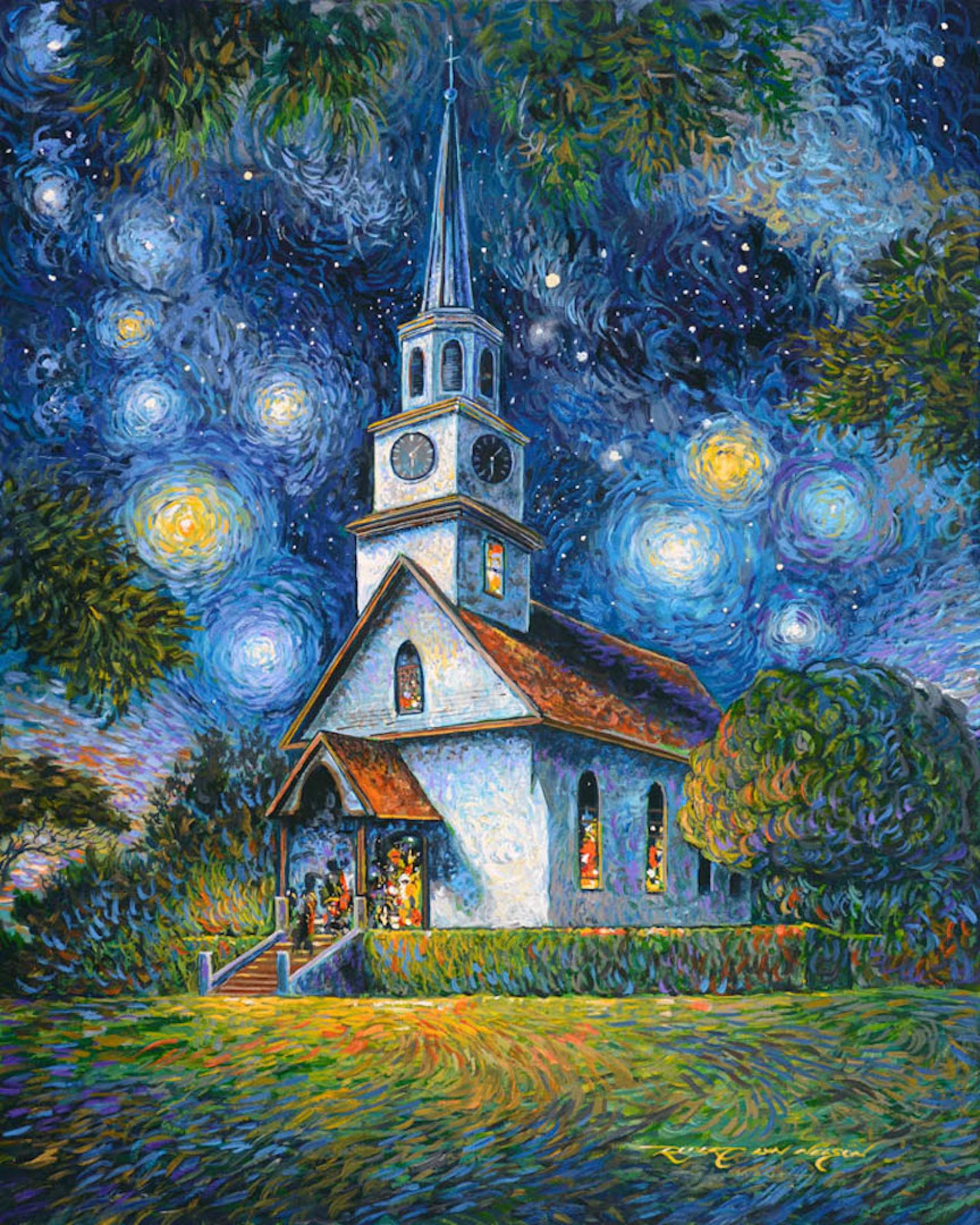 Kaahumanu Church by Robert Lyn Nelson
