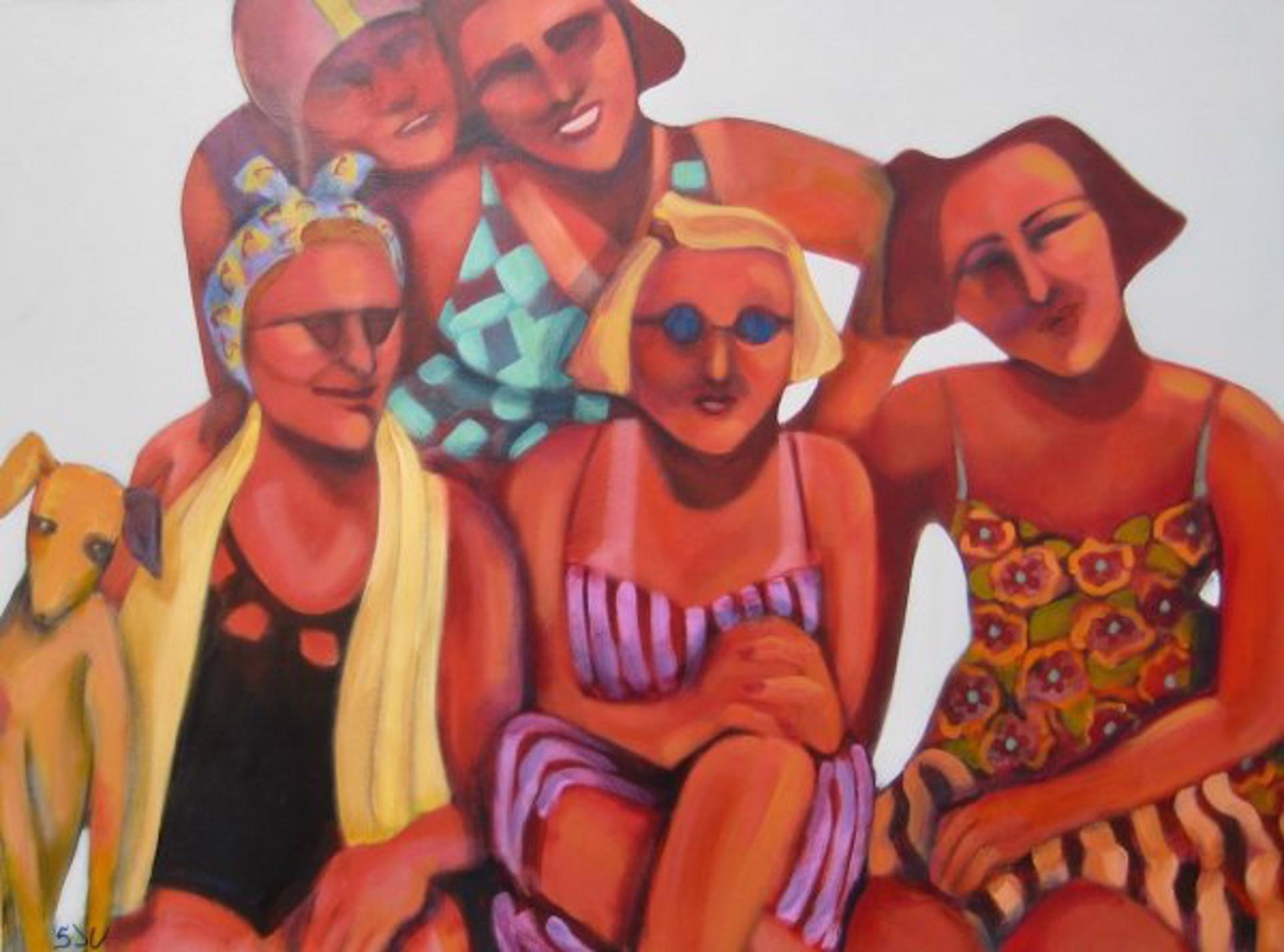 Beach Wear by Sandra J. Campbell