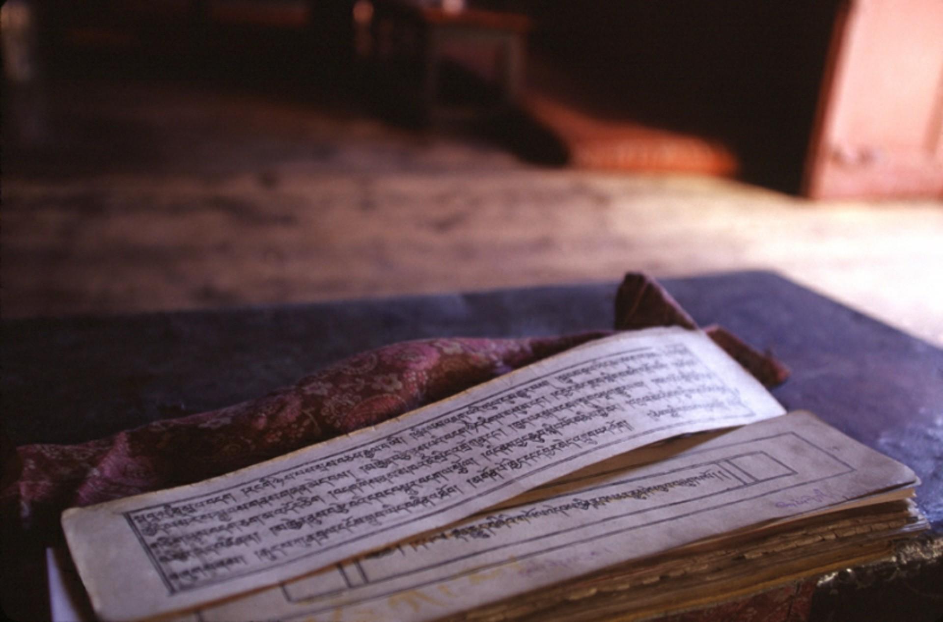 Amchi's Prayer. Ladakh, India  by Cora Edmonds