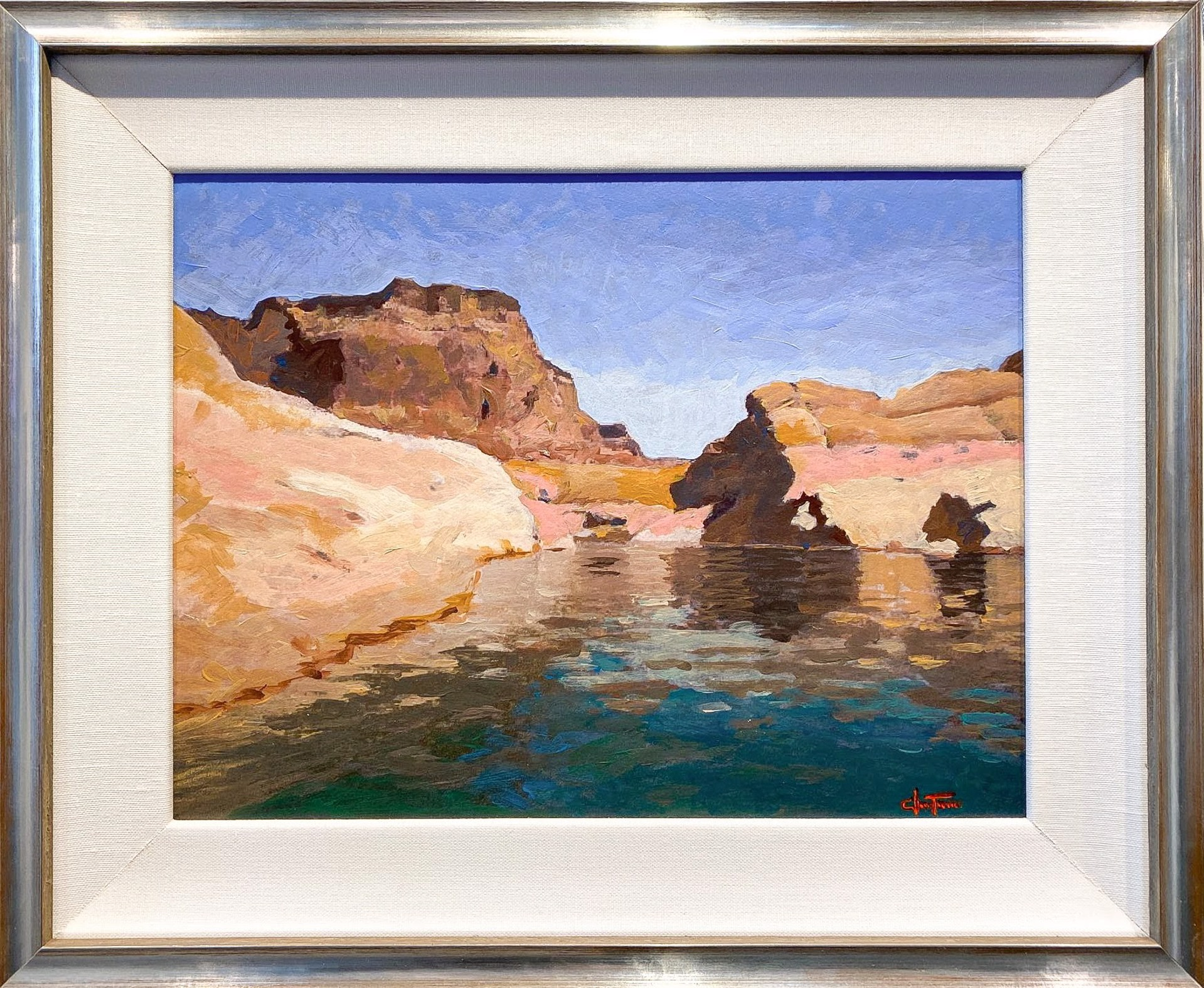 Lake Powell 4 P.M. by Christopher Turner