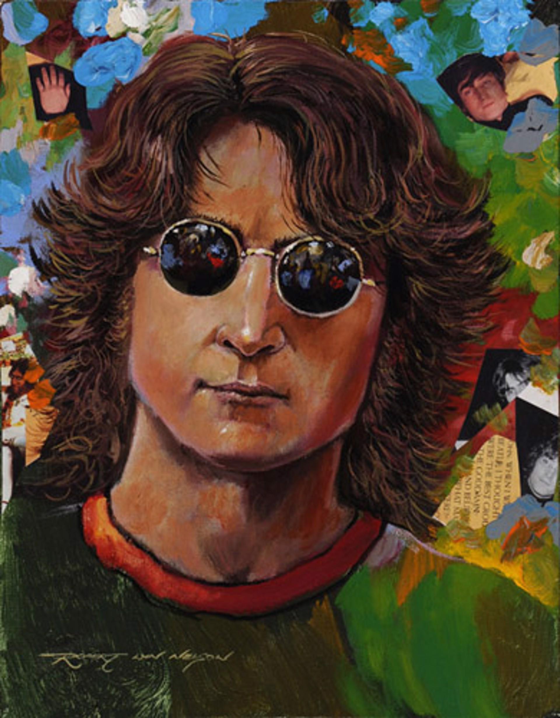 New York John Lennon by Robert Lyn Nelson