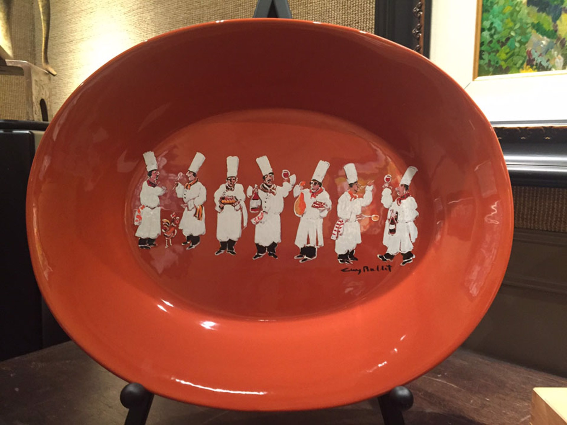 Platter (Gathering Of Chefs) by Guy Buffet