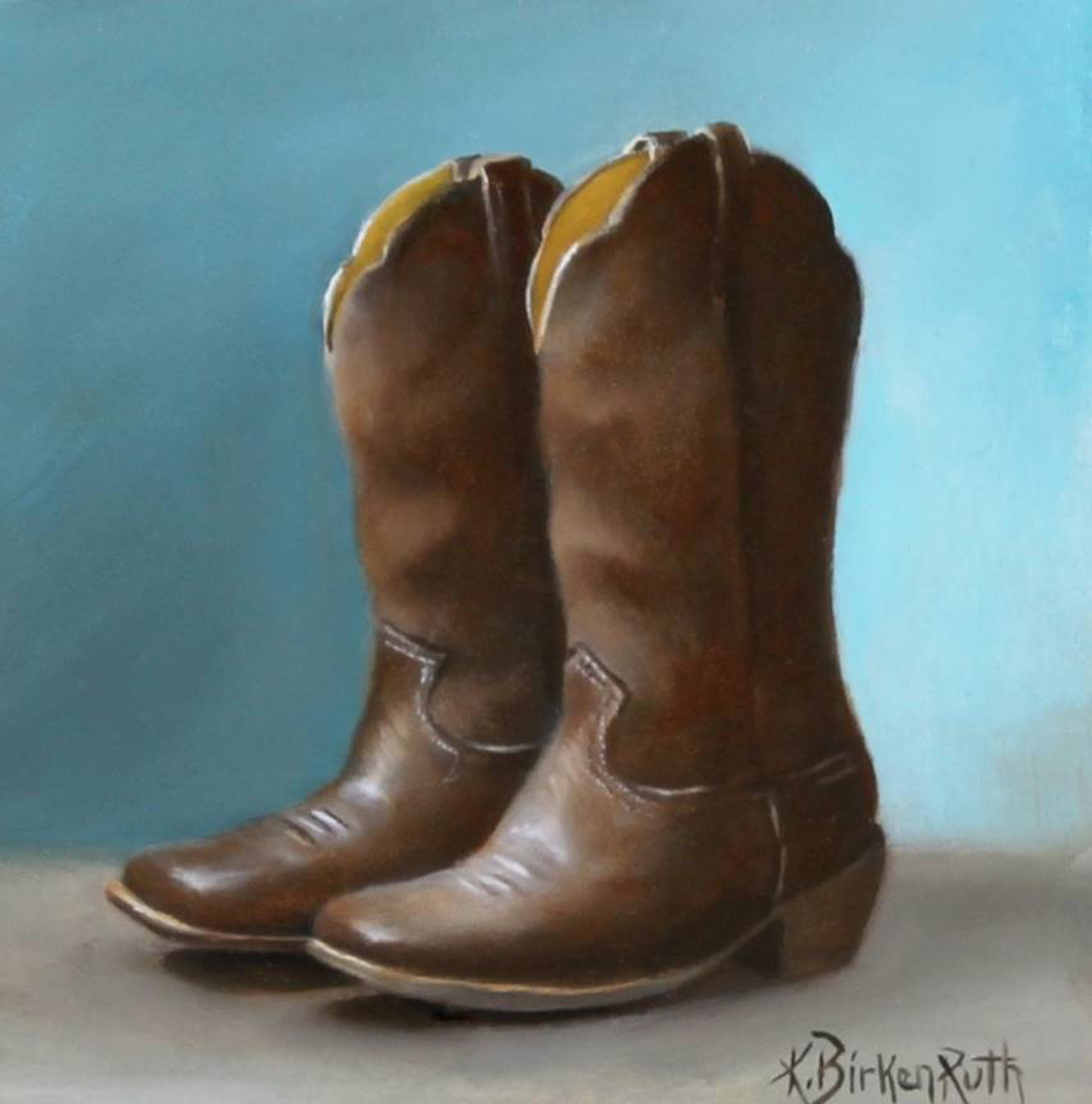 Square Toe by Kelly Birkenruth