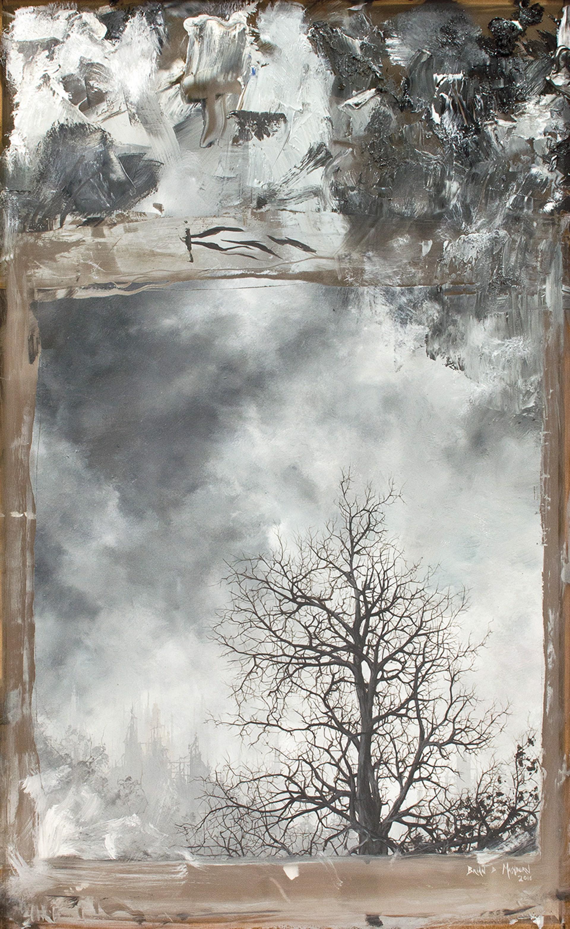 Oak in Winter by Brian Mashburn