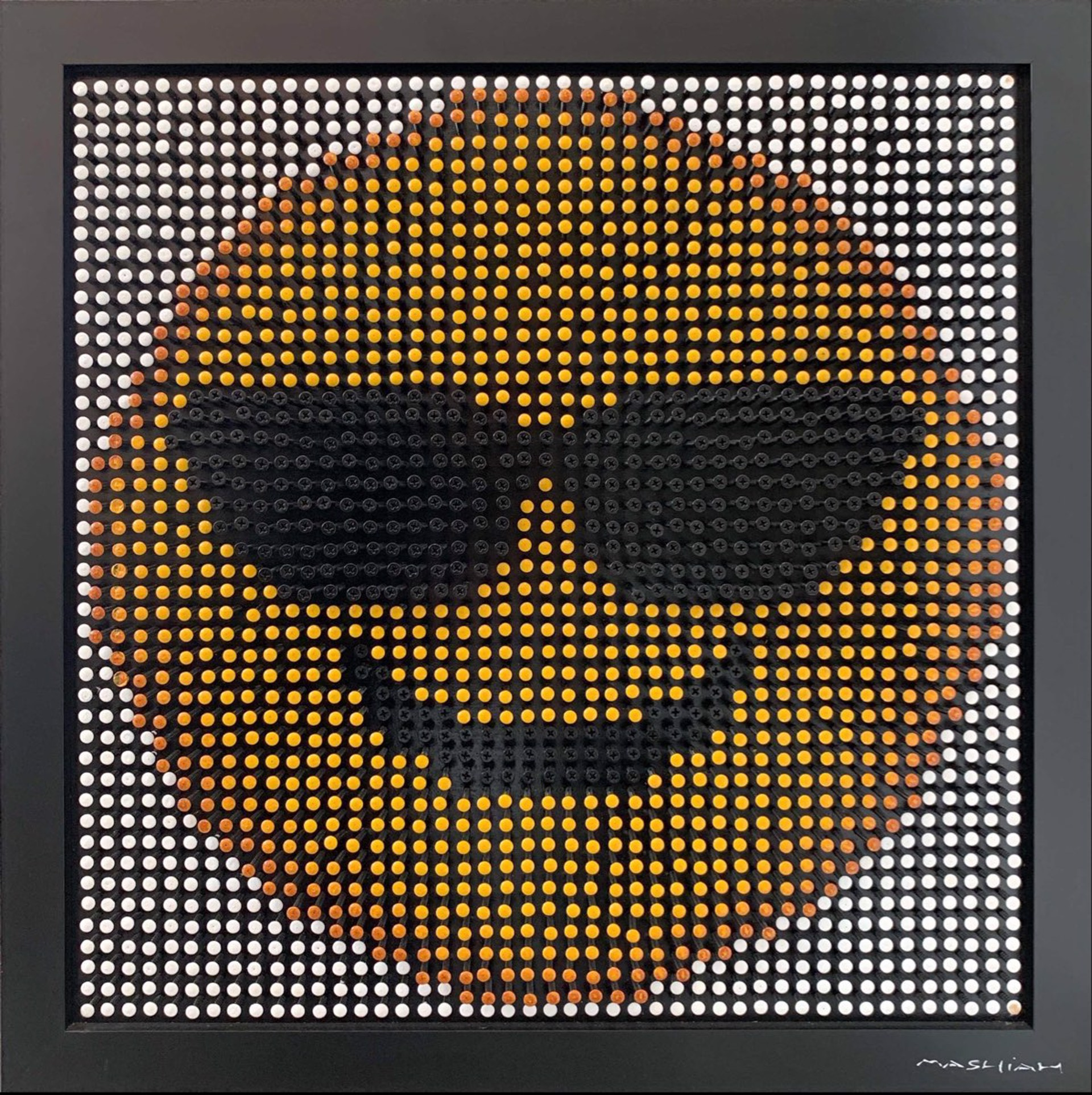Emoji Screw Series - Smiling Face With Sunglasses by Efi Mashiah