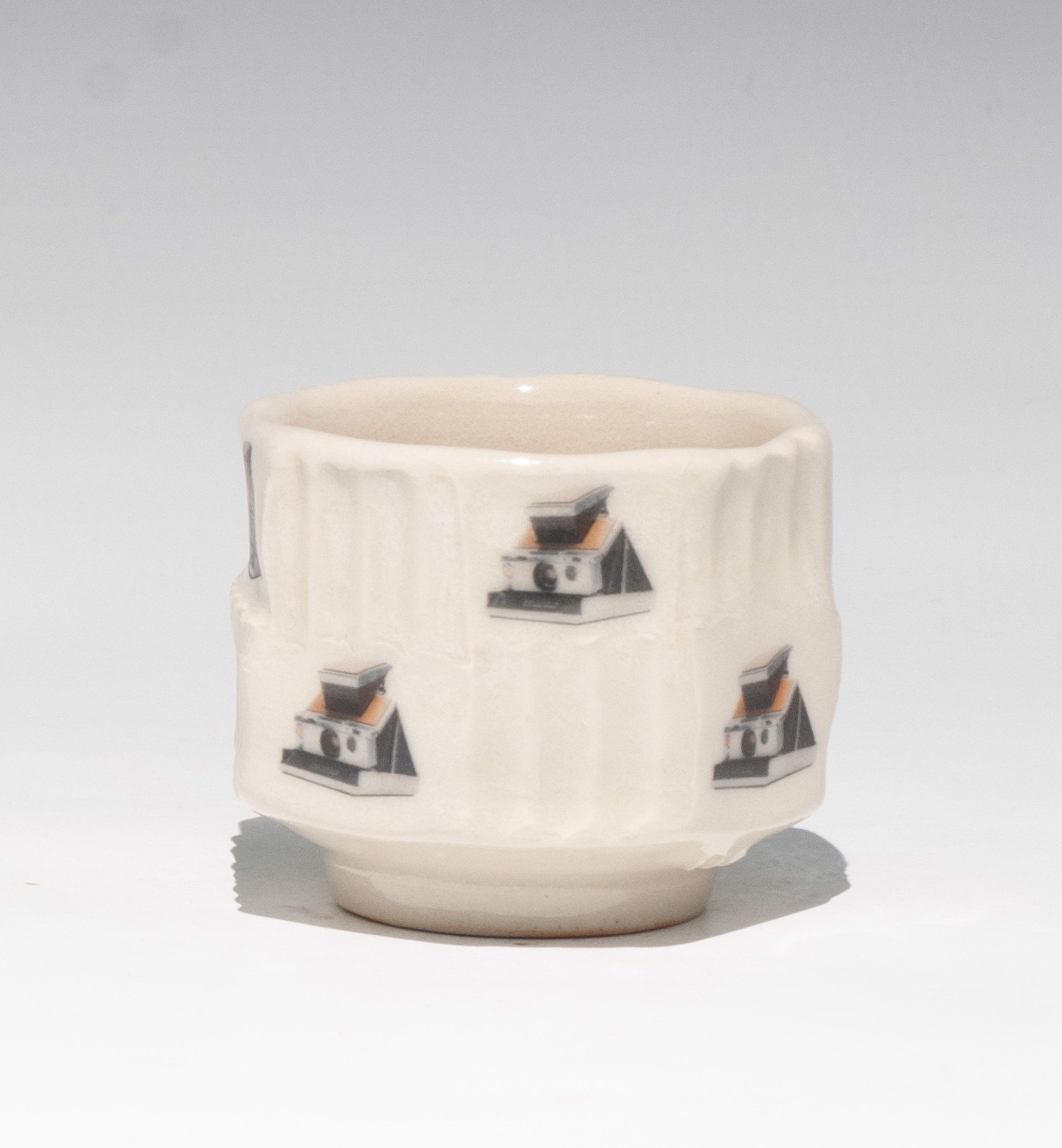 Polaroid Sake Cup by Daniel Anderson