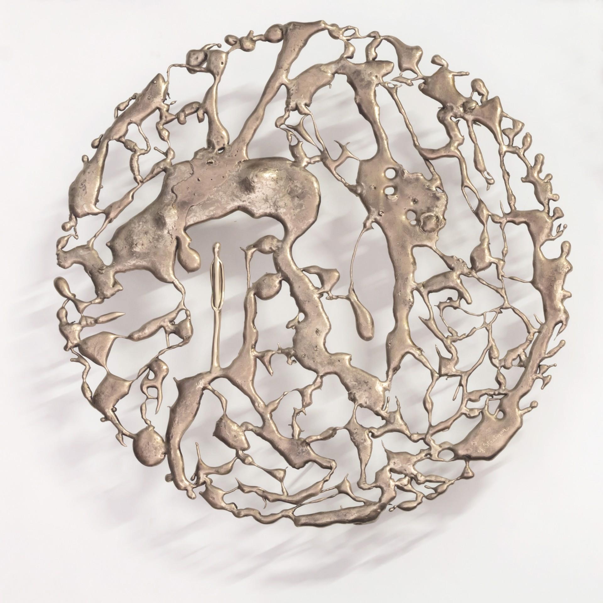 "The Gravity Between Us (20"") by Jennyfer Stratman"