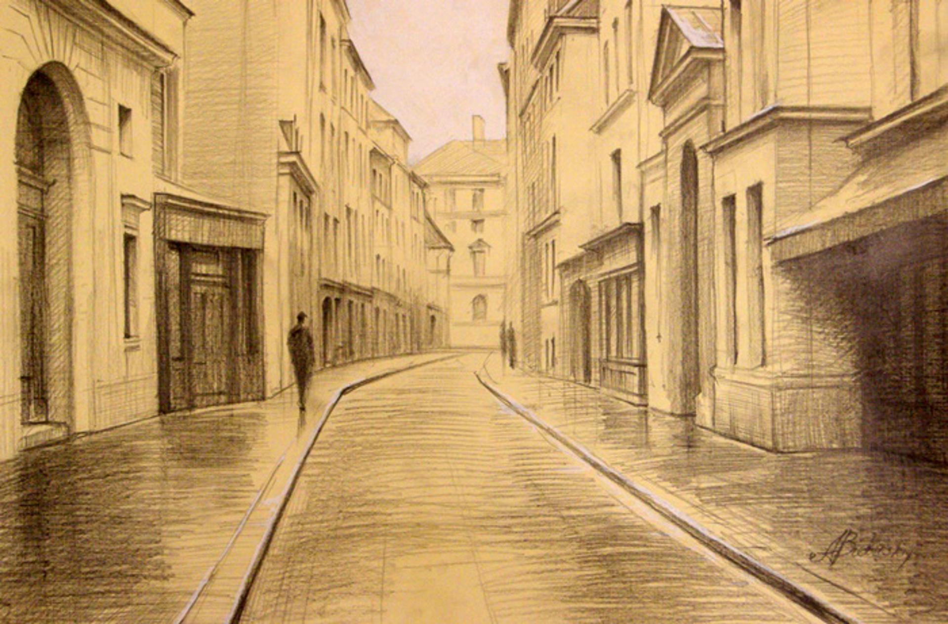 Streets of Paris by Alexei Butirskiy