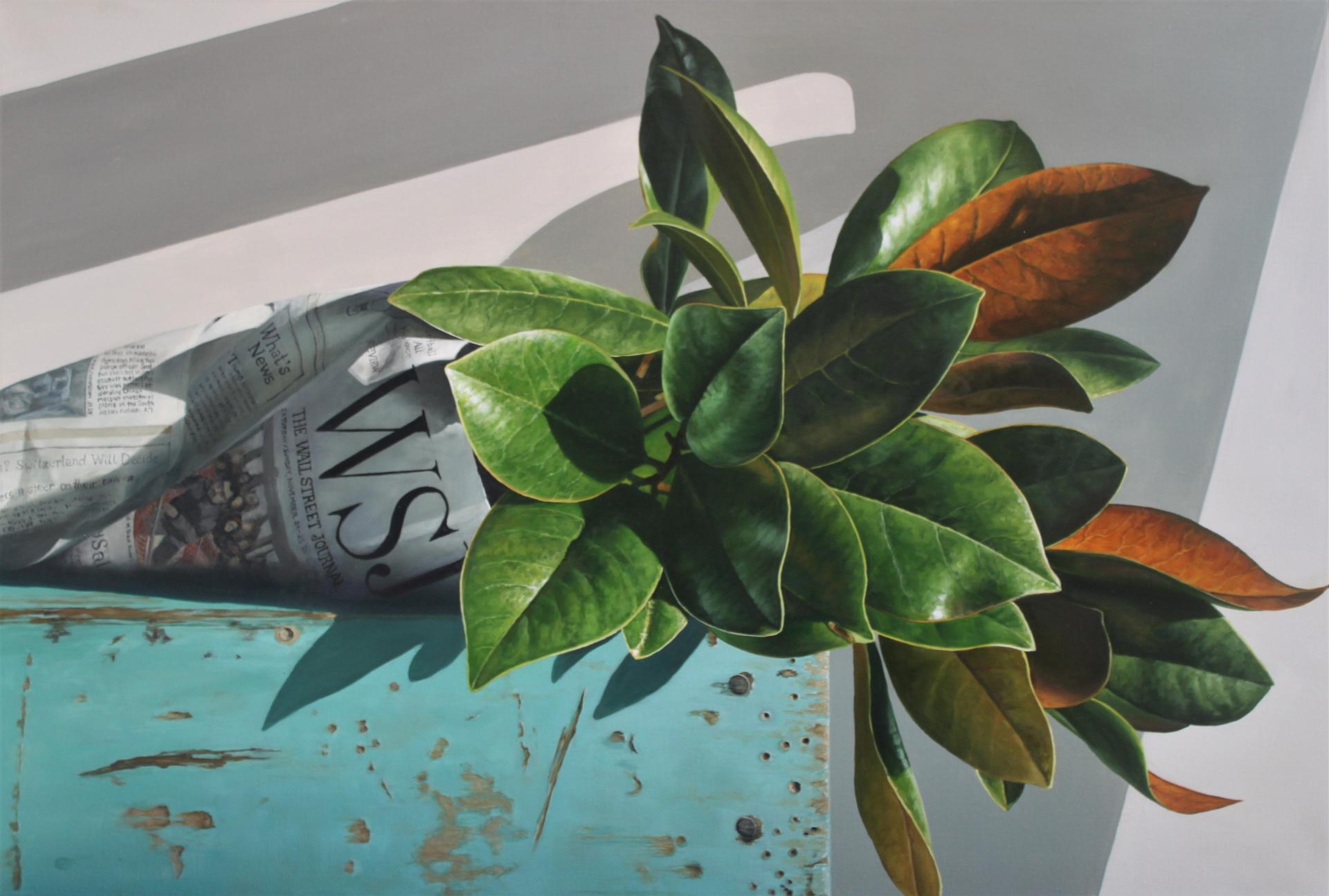 Magnolia Leaves by Loren DiBenedetto, OPA