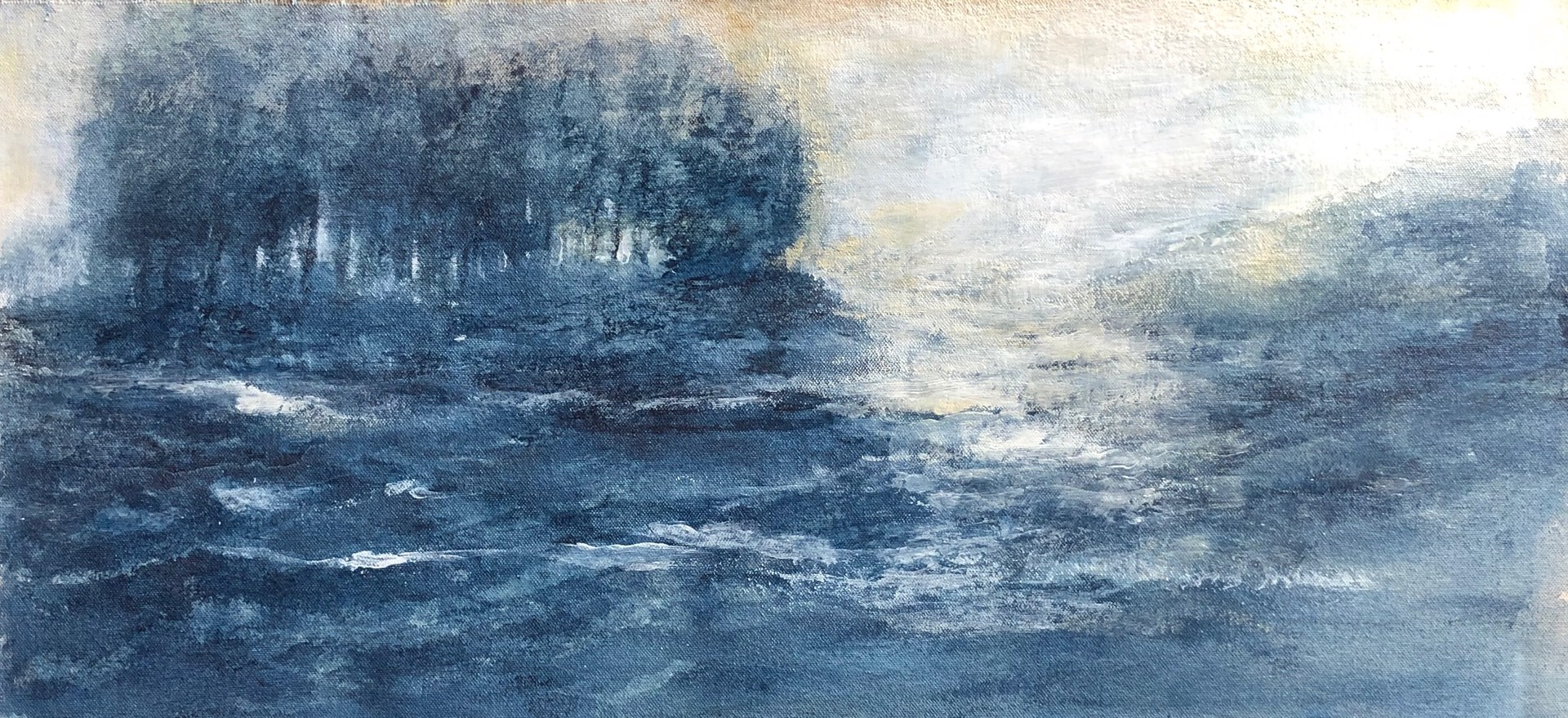 Lake George Apertif by Andrei Petrov