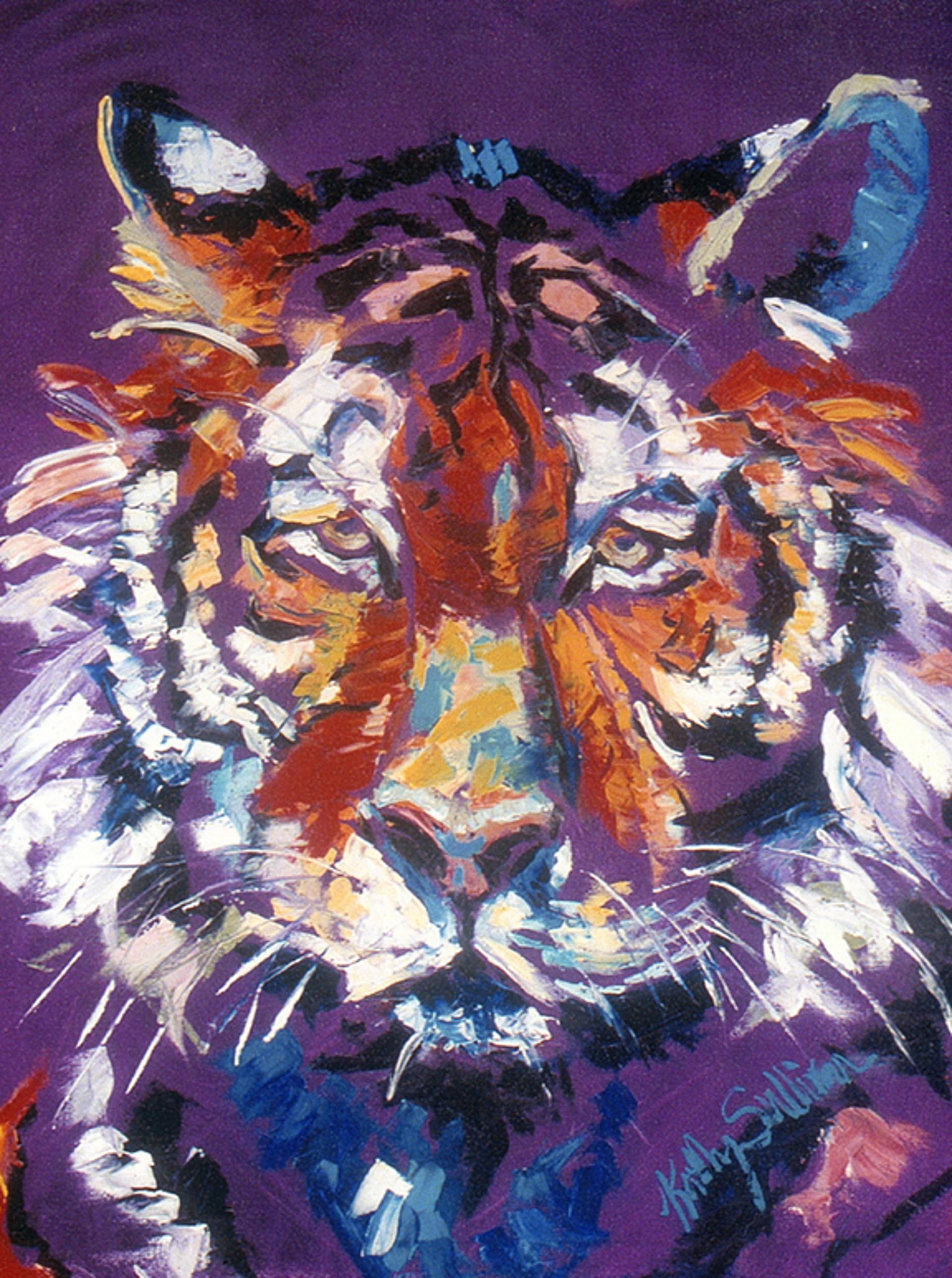 Tiger by Kathy Sullivan -- Giclee Prints