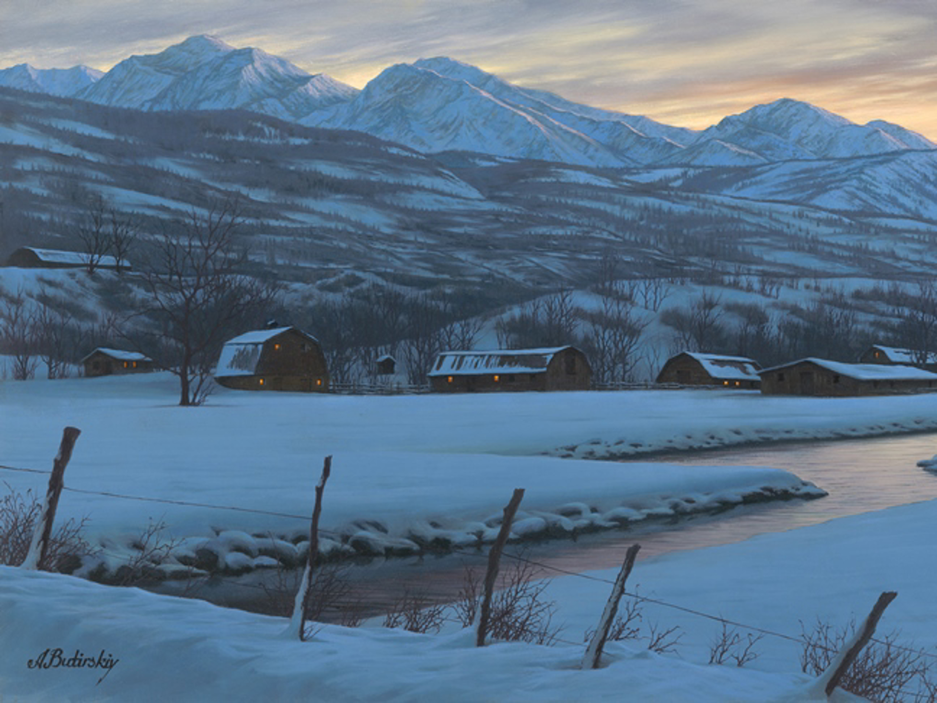 Winter Fantasy by Alexei Butirskiy