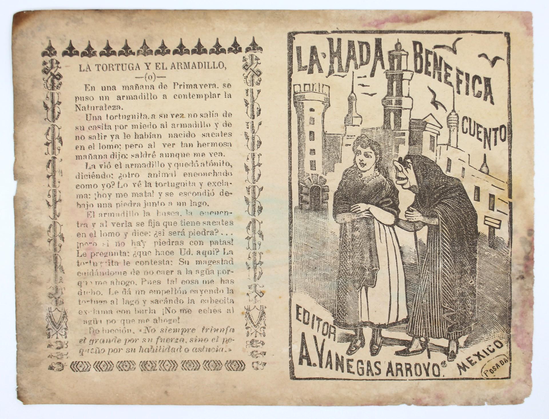 La Hada Benefica by José Guadalupe Posada (1852 - 1913)