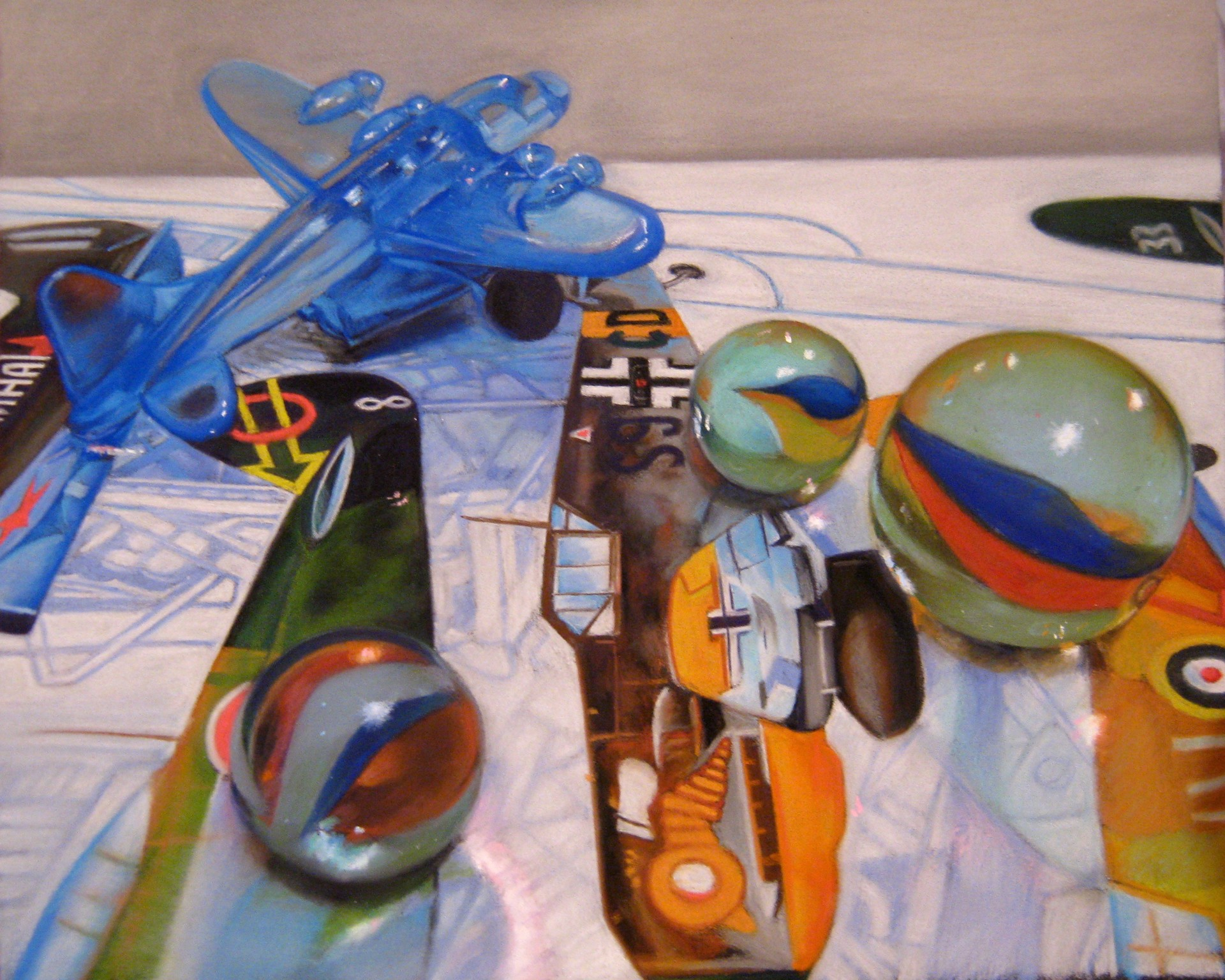 Marbles and Planes by Irene Georgopoulou