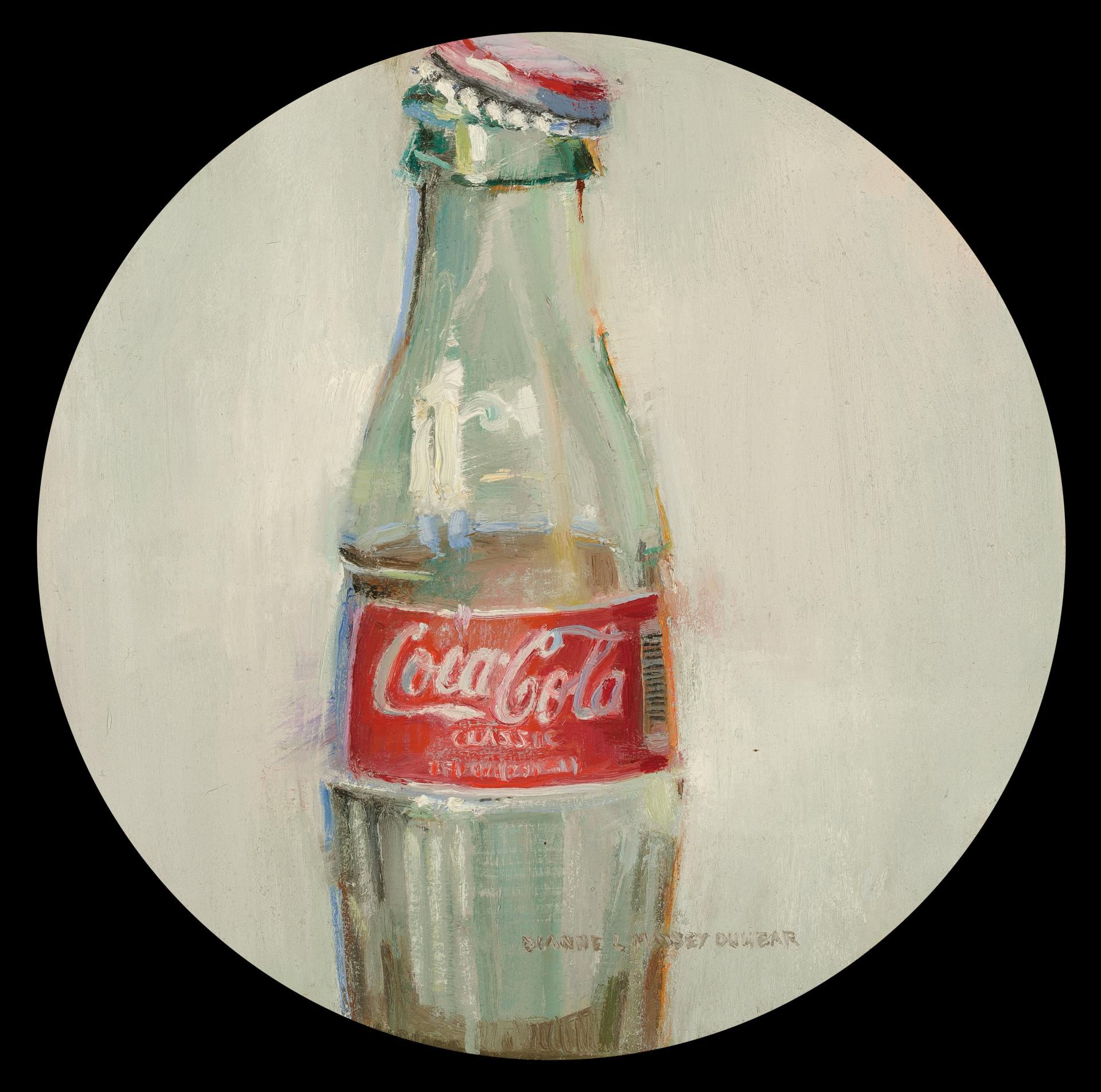 Coke Bottle by Dianne L Massey Dunbar